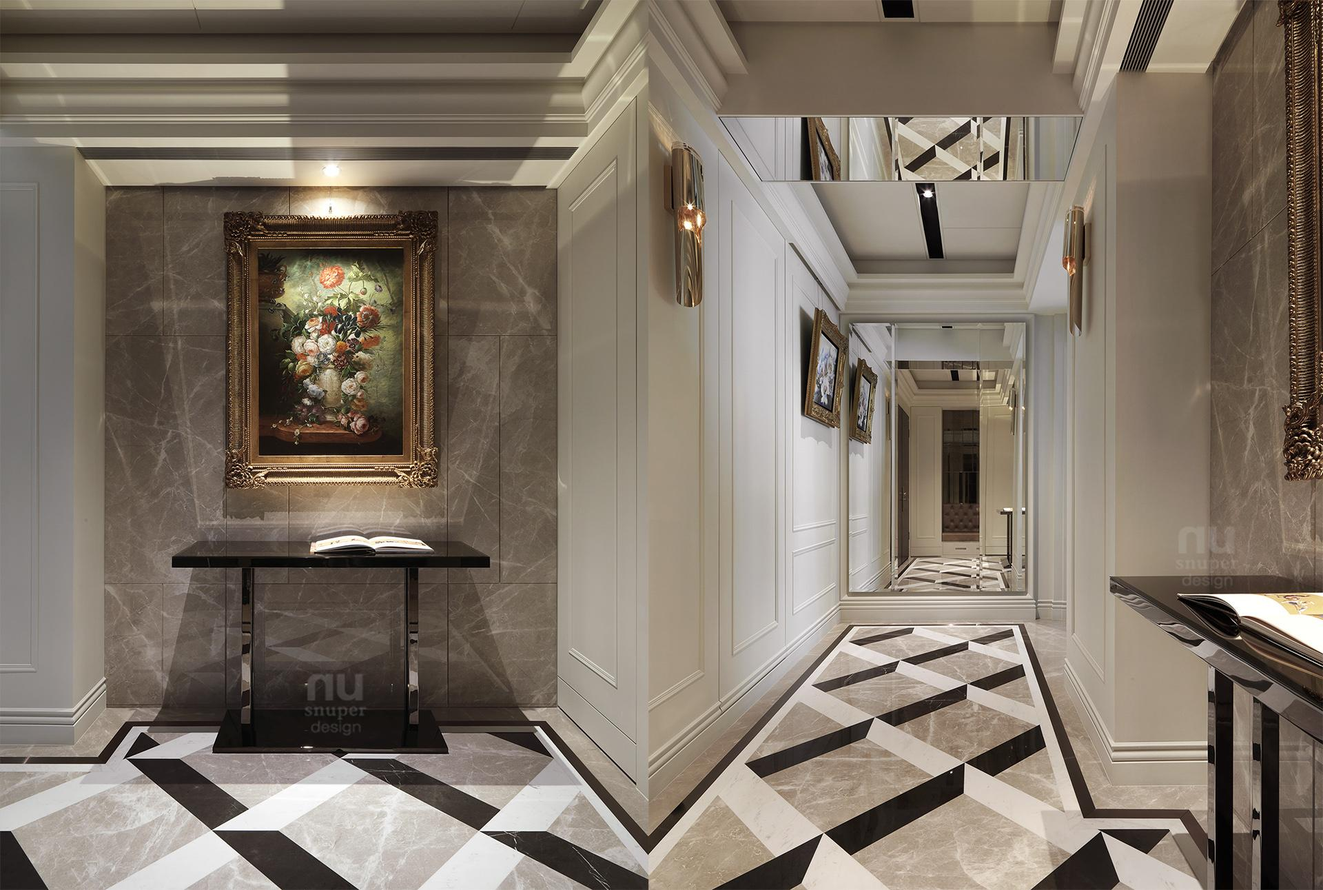 豪宅設計 - 古典印象-玄關