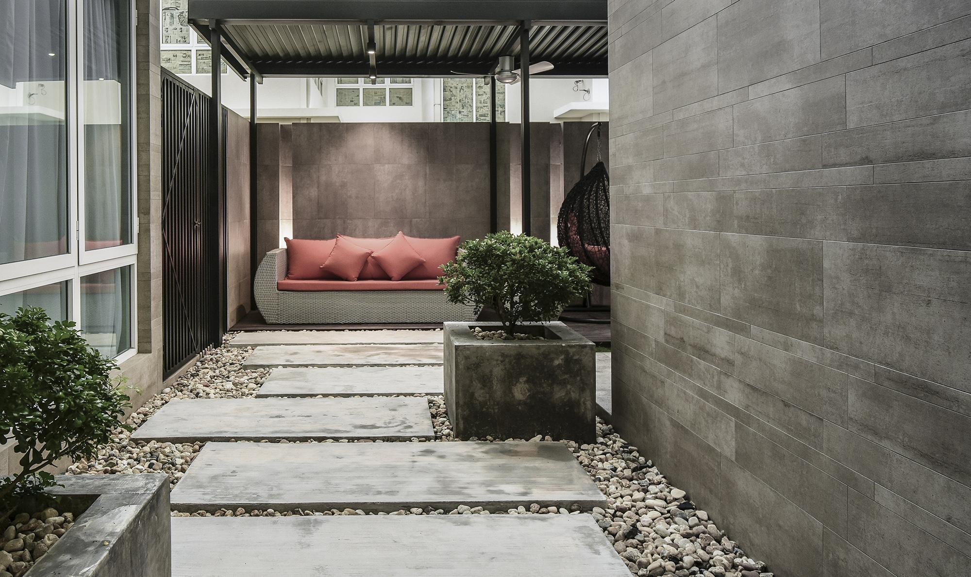 豪宅設計-印象馬來西亞-陽台