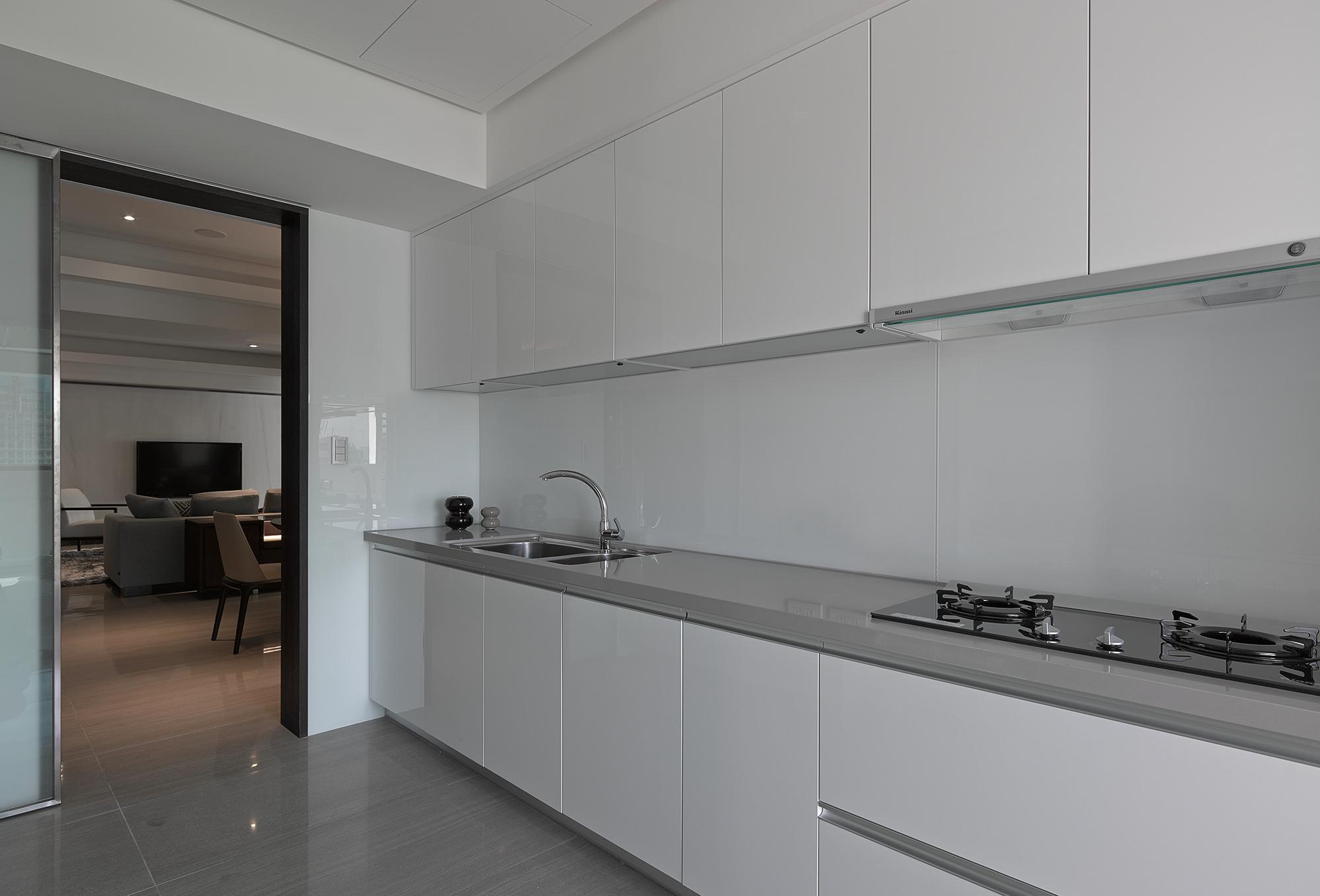 豪宅設計-靜謐-廚房