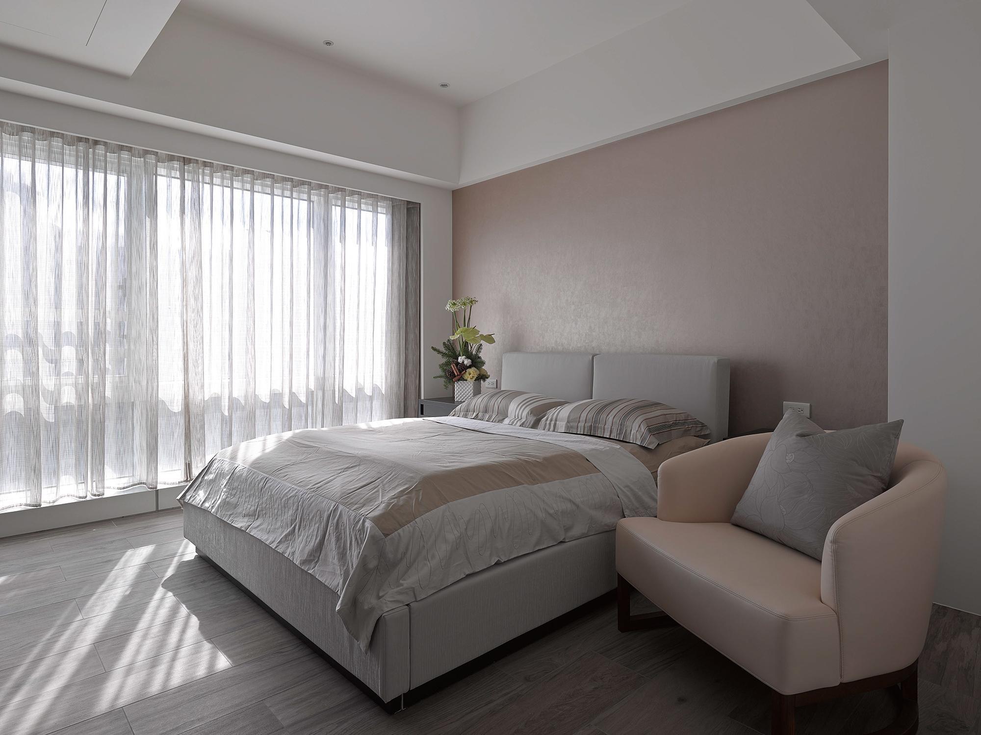 豪宅設計-靜謐-臥房
