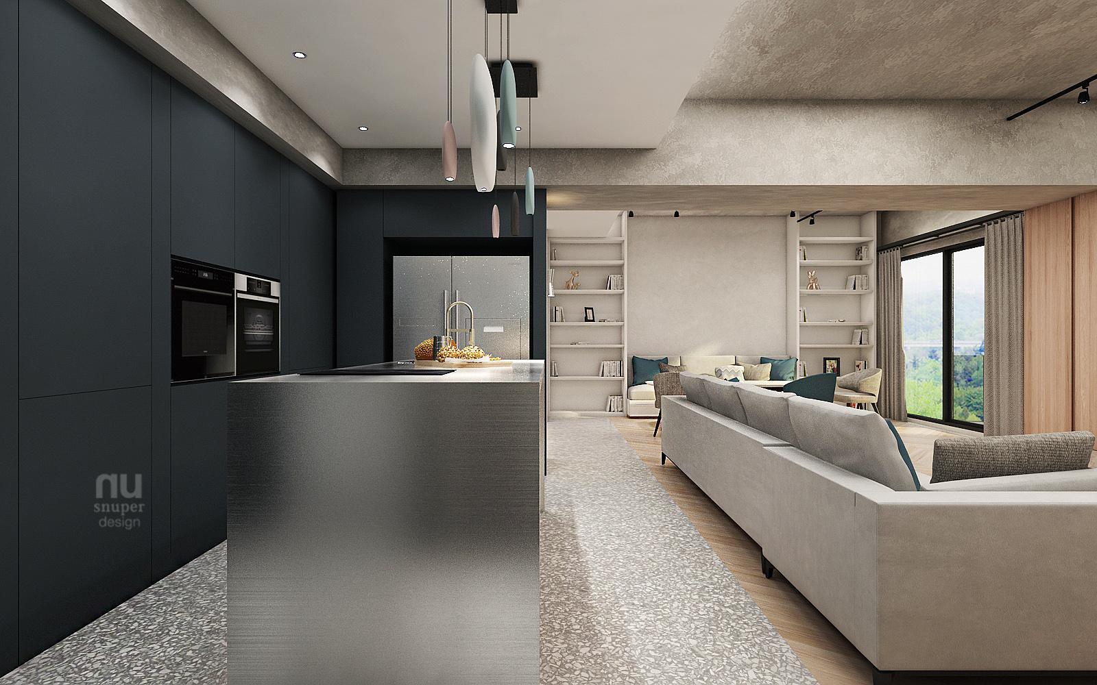 商空設計-做個天馬行空的夢想家-廚房
