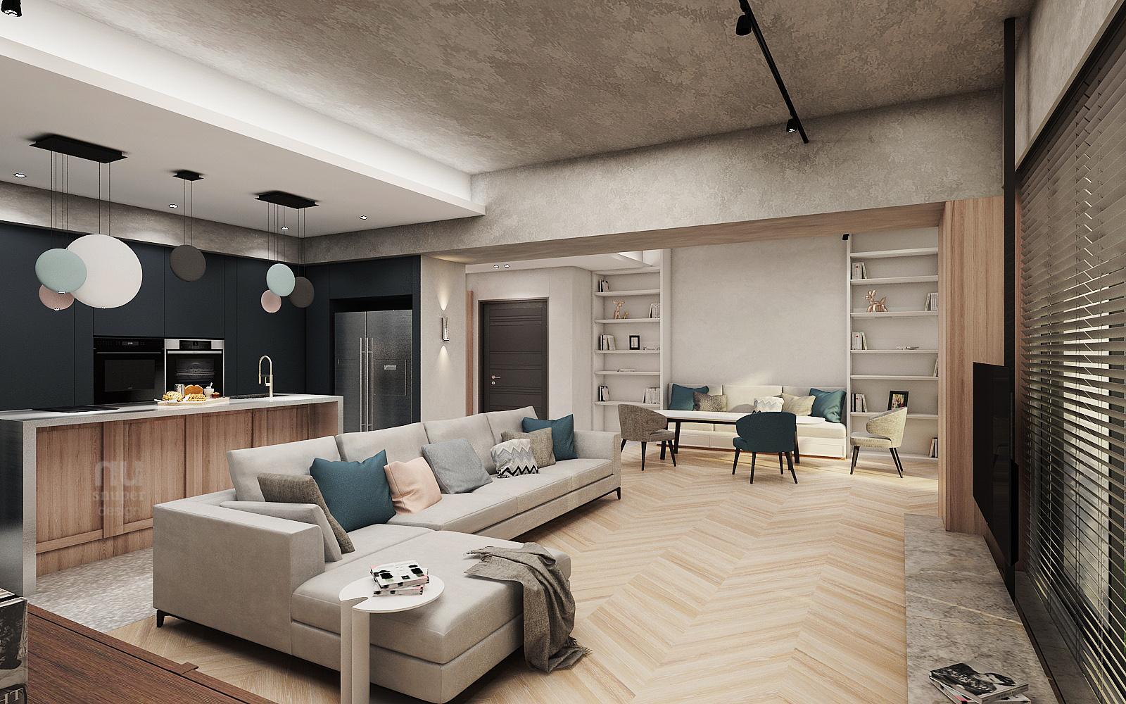 商空設計-做個天馬行空的夢想家-客廳