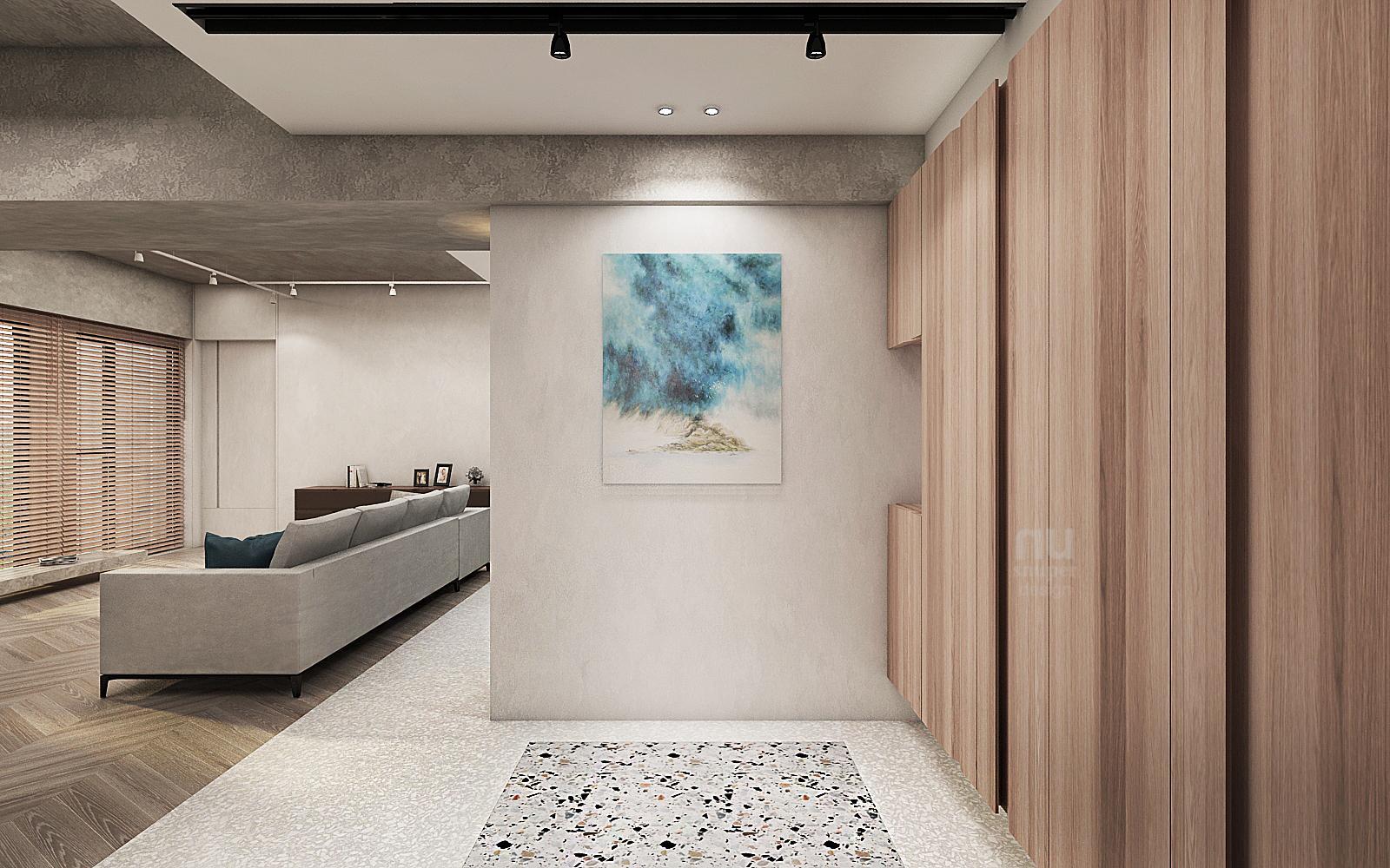 商空設計-做個天馬行空的夢想家-玄關