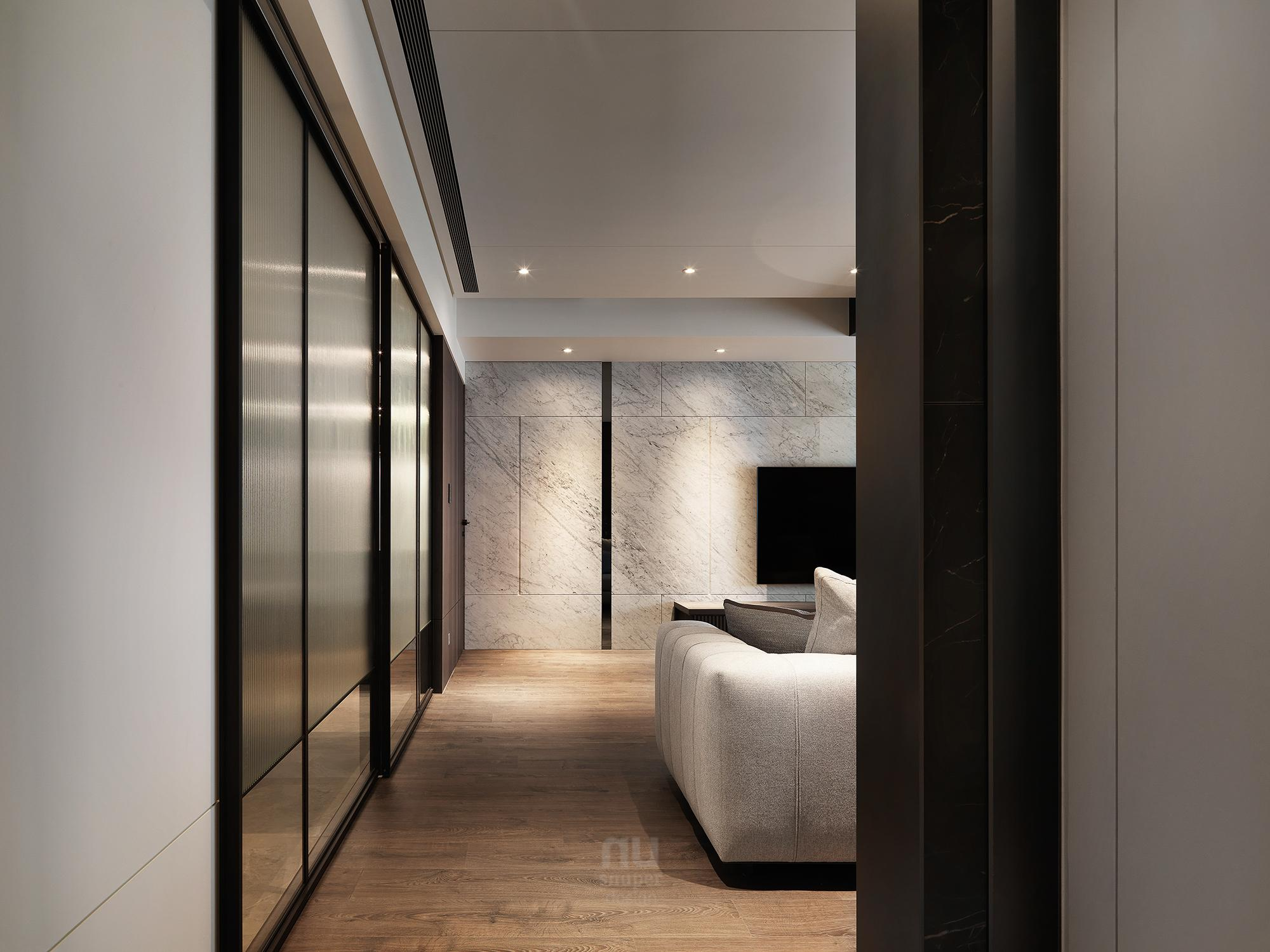 豪宅設計 - 都會剪影-客廳