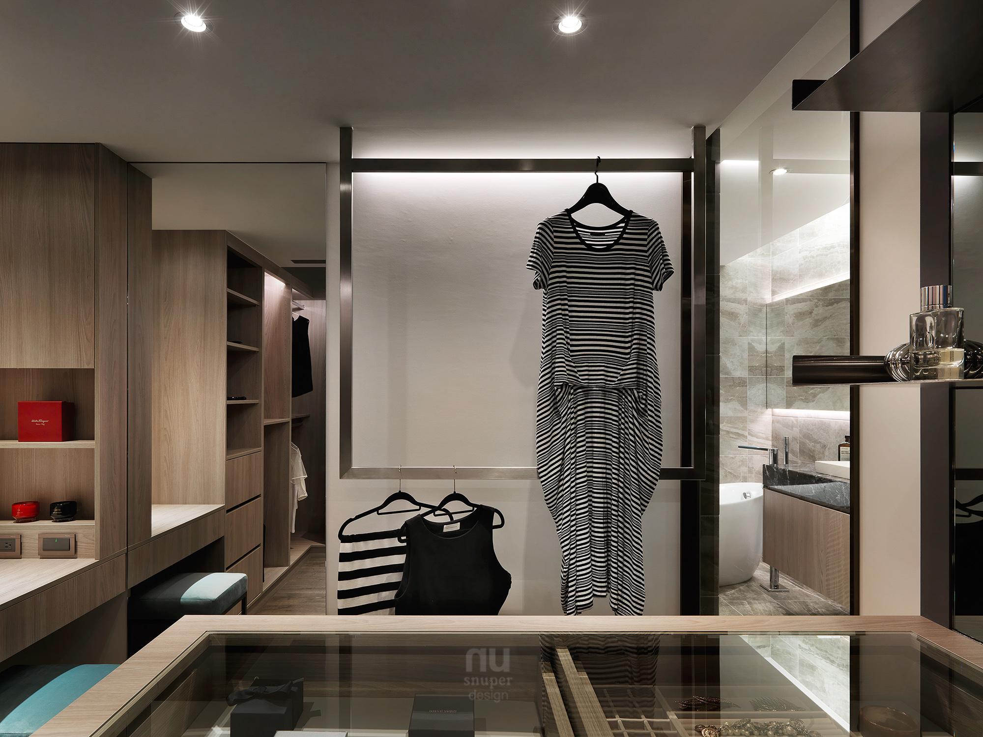 豪宅設計 - 都會剪影-更衣間