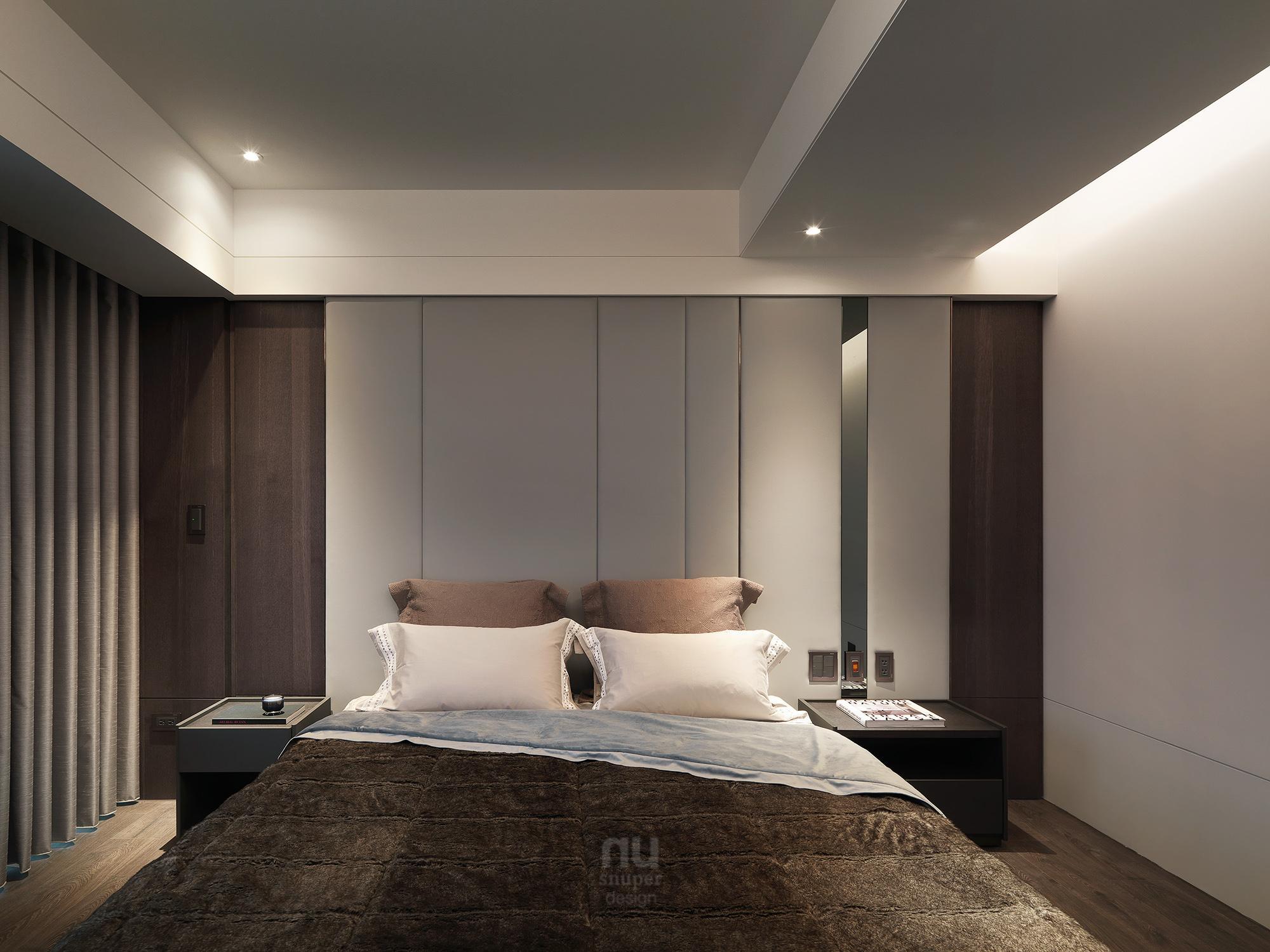 豪宅設計 - 都會剪影-臥室