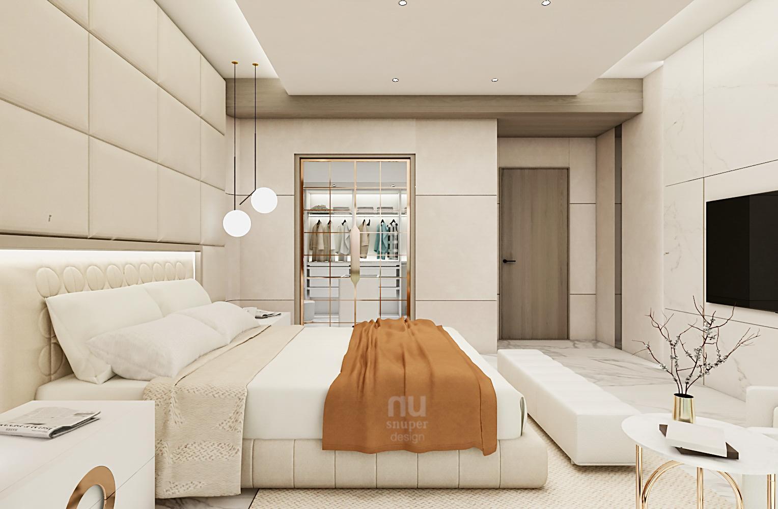 豪宅設計主臥室設計