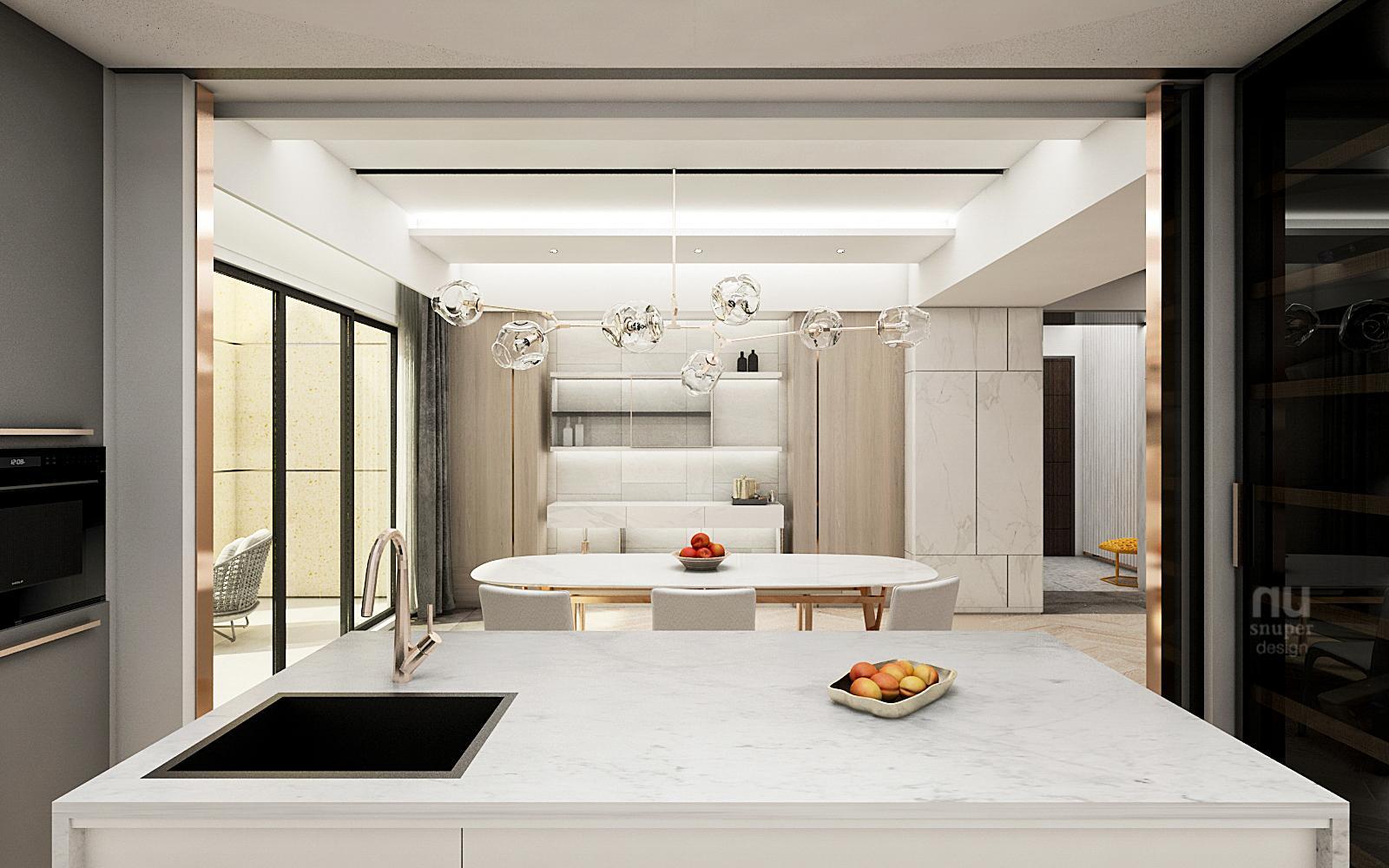 豪宅設計廚房設計
