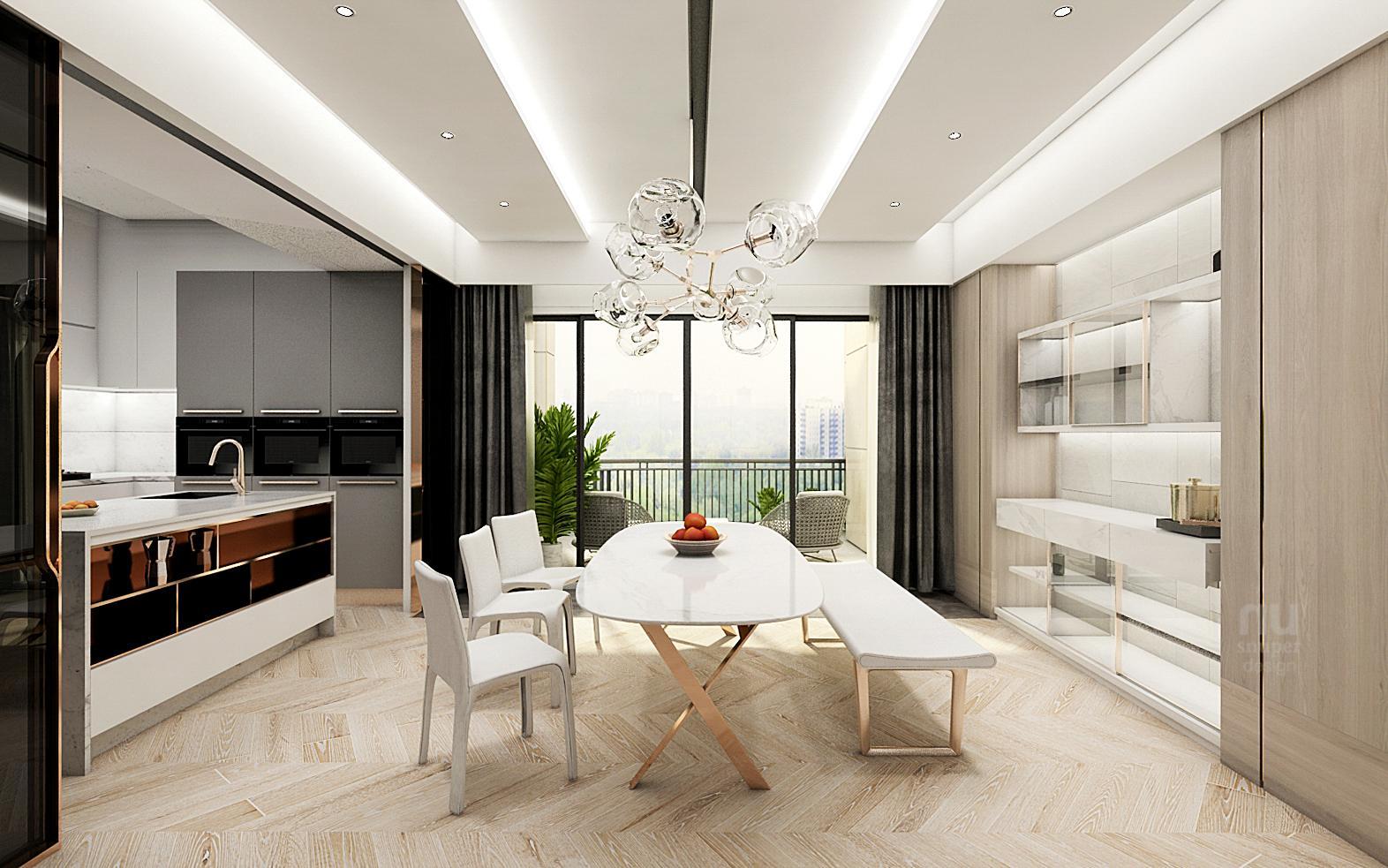 豪宅設計-當代時髦的風采-客廚房