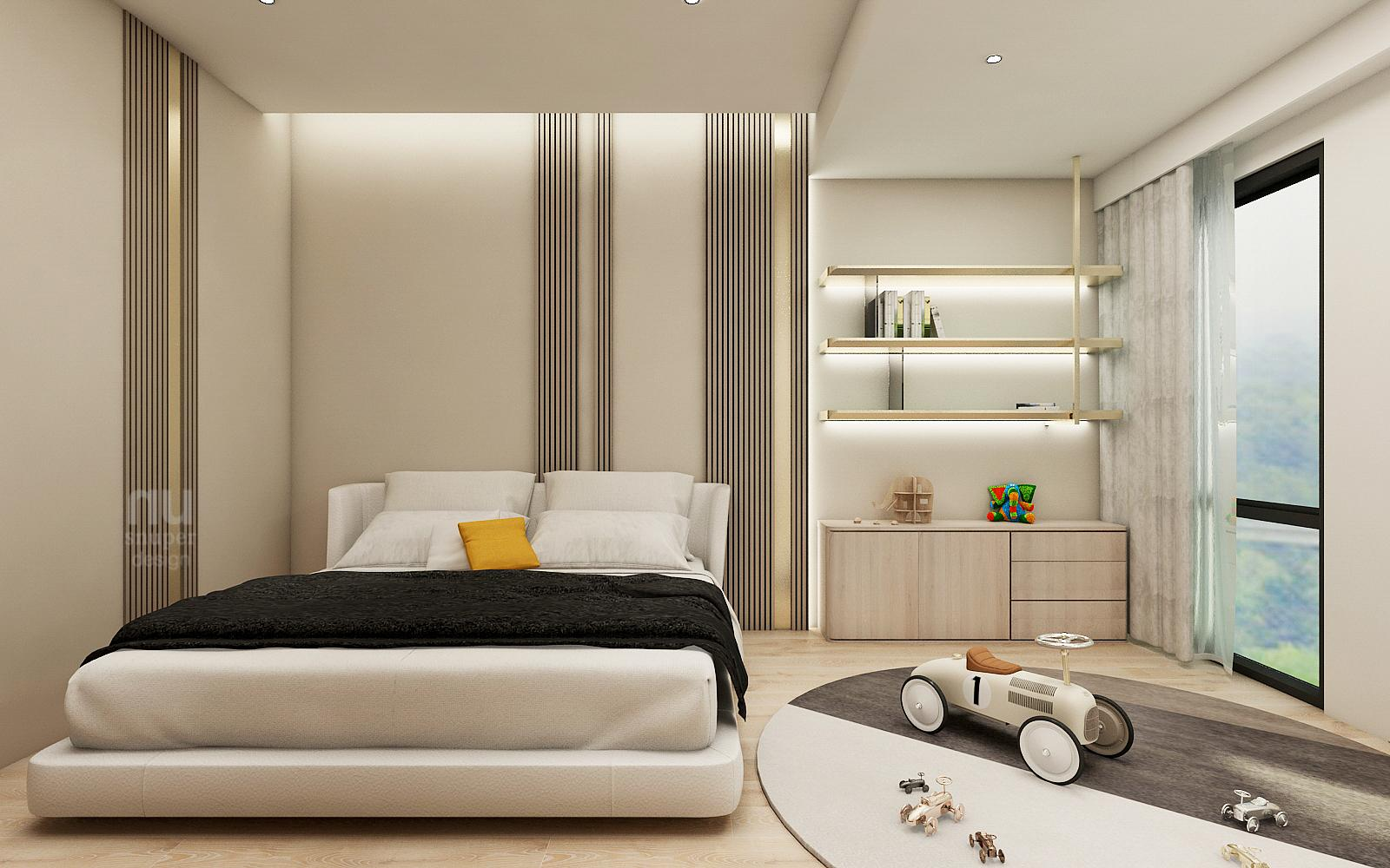 豪宅設計-當代時髦的風采-臥室