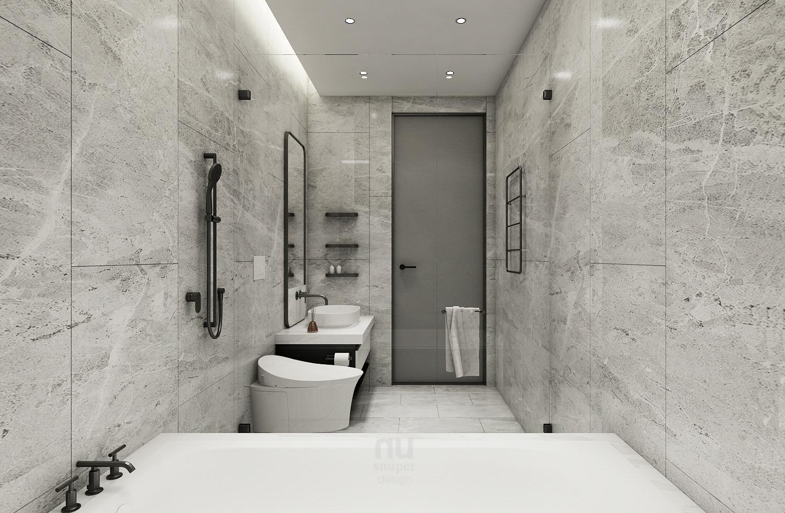 豪宅設計-當代時髦的風采-浴室