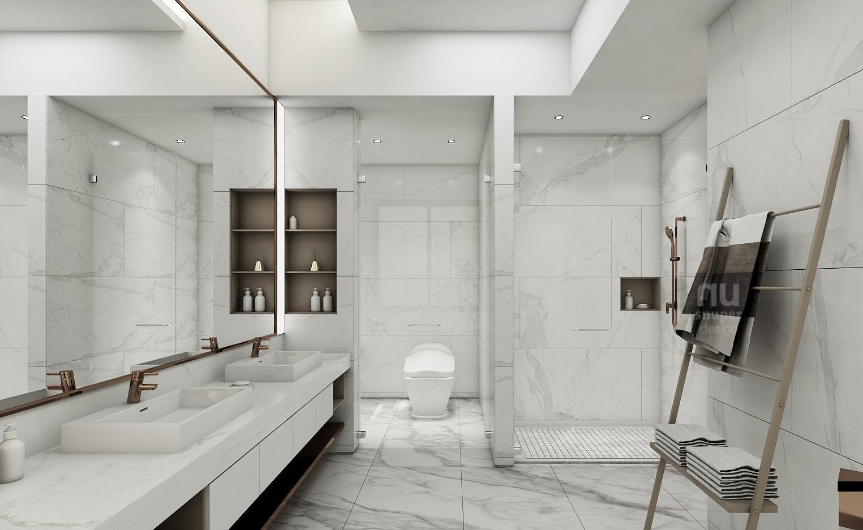 豪宅設計-當代時髦的風采-更衣間