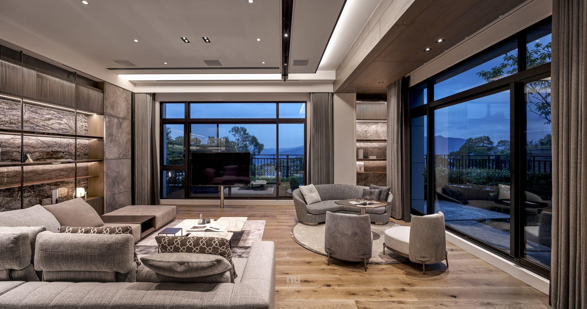 豪宅設計-大坪數-客廳