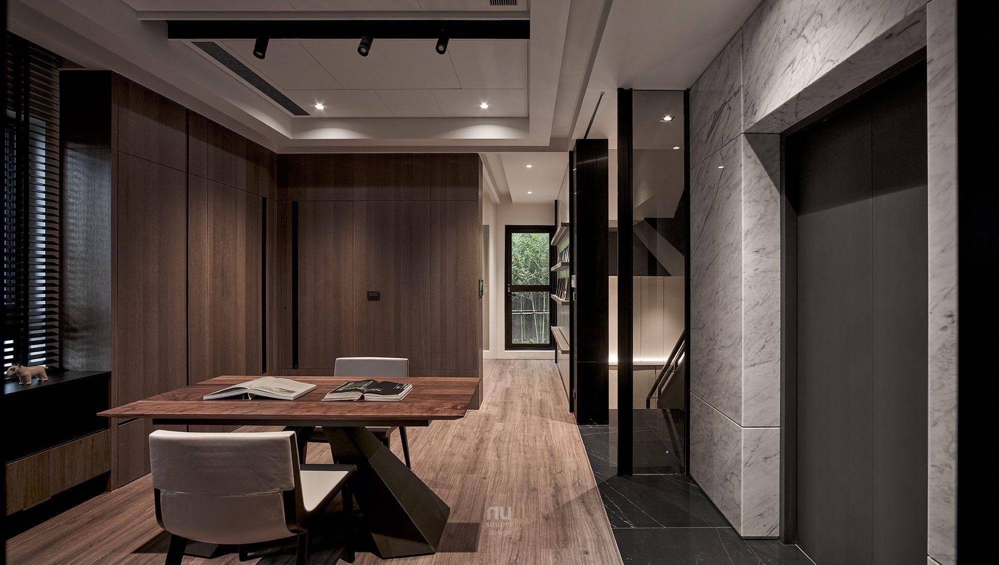 豪宅設計-大坪數-走道