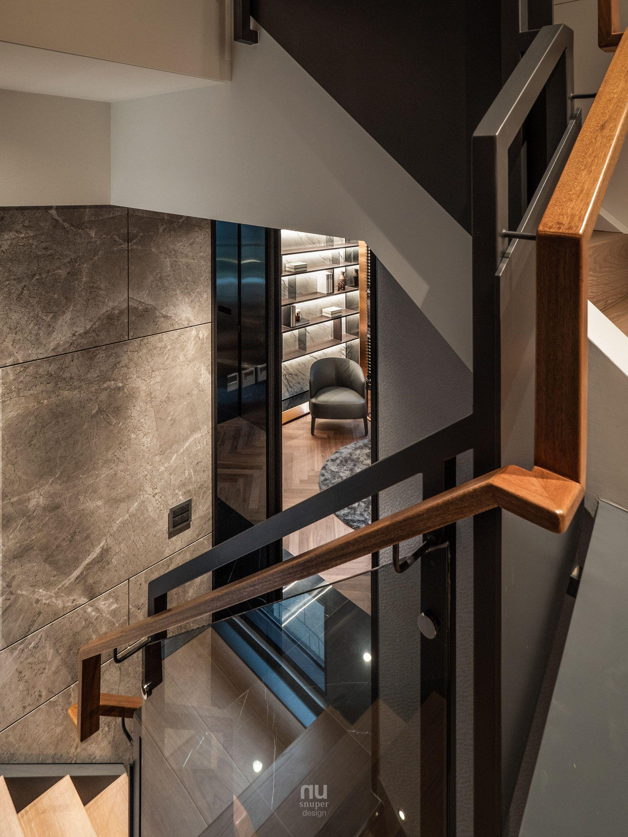 豪宅設計-大坪數-樓梯