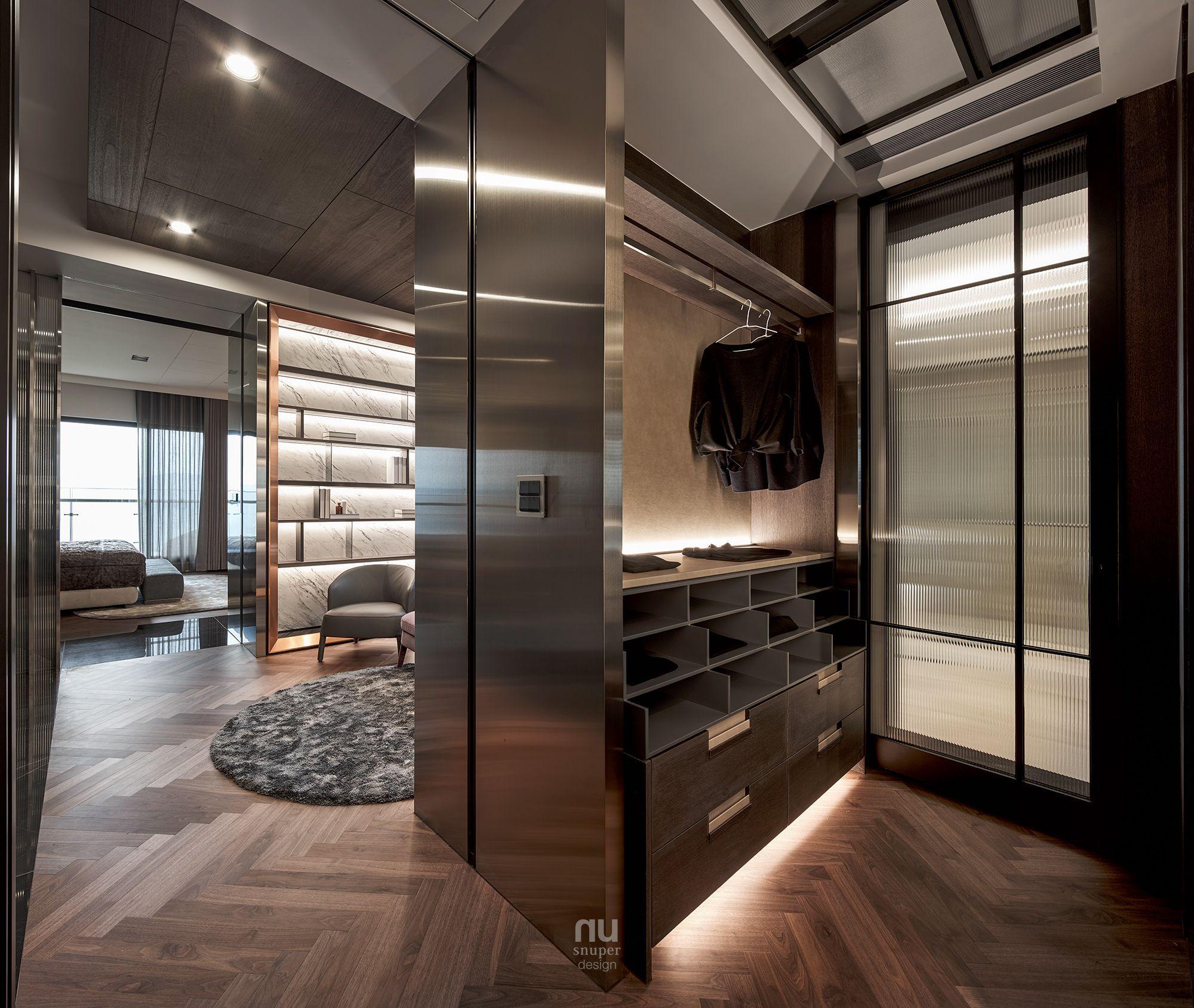 豪宅設計-大坪數-衣房