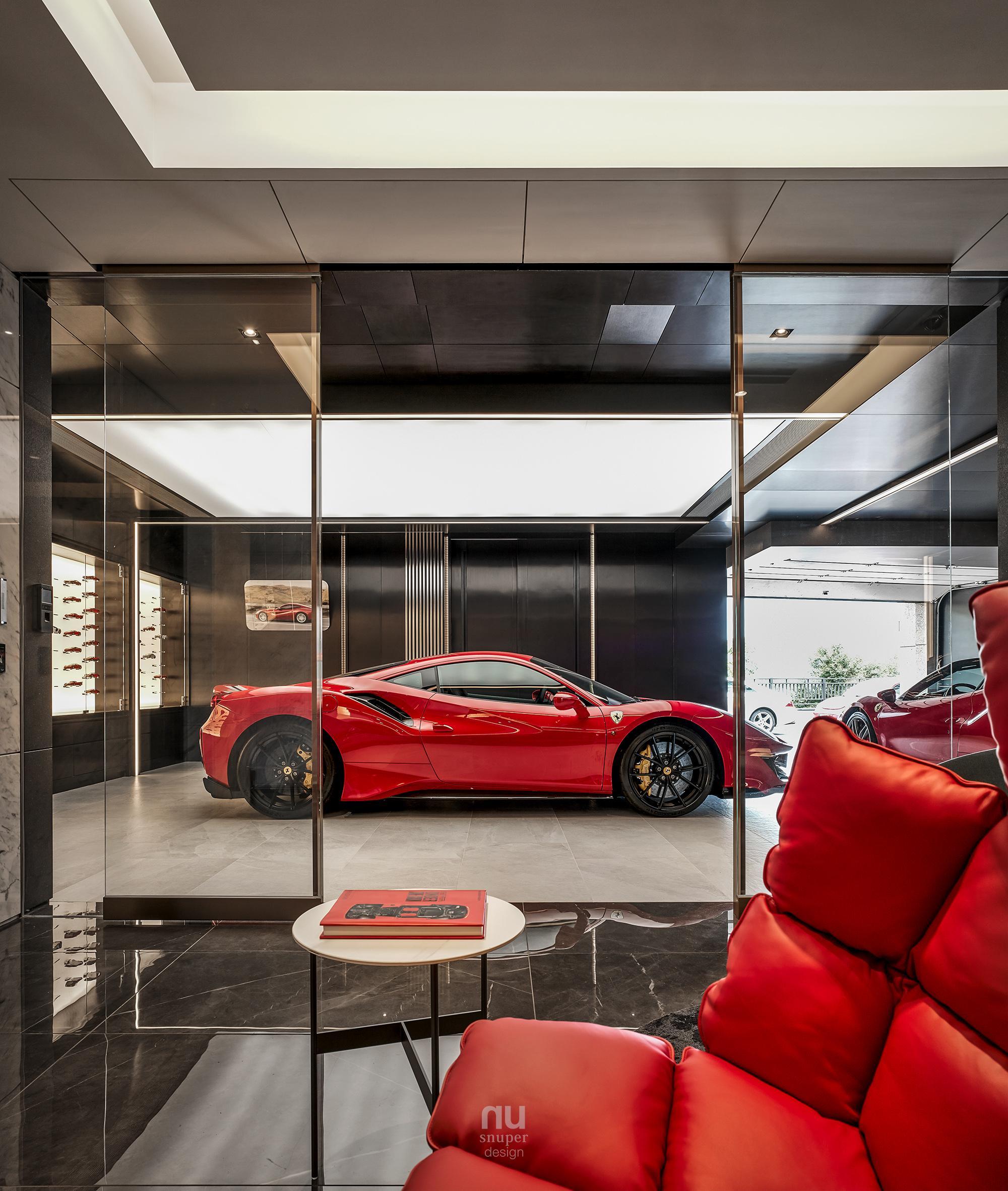 豪宅設計-大坪數-車庫