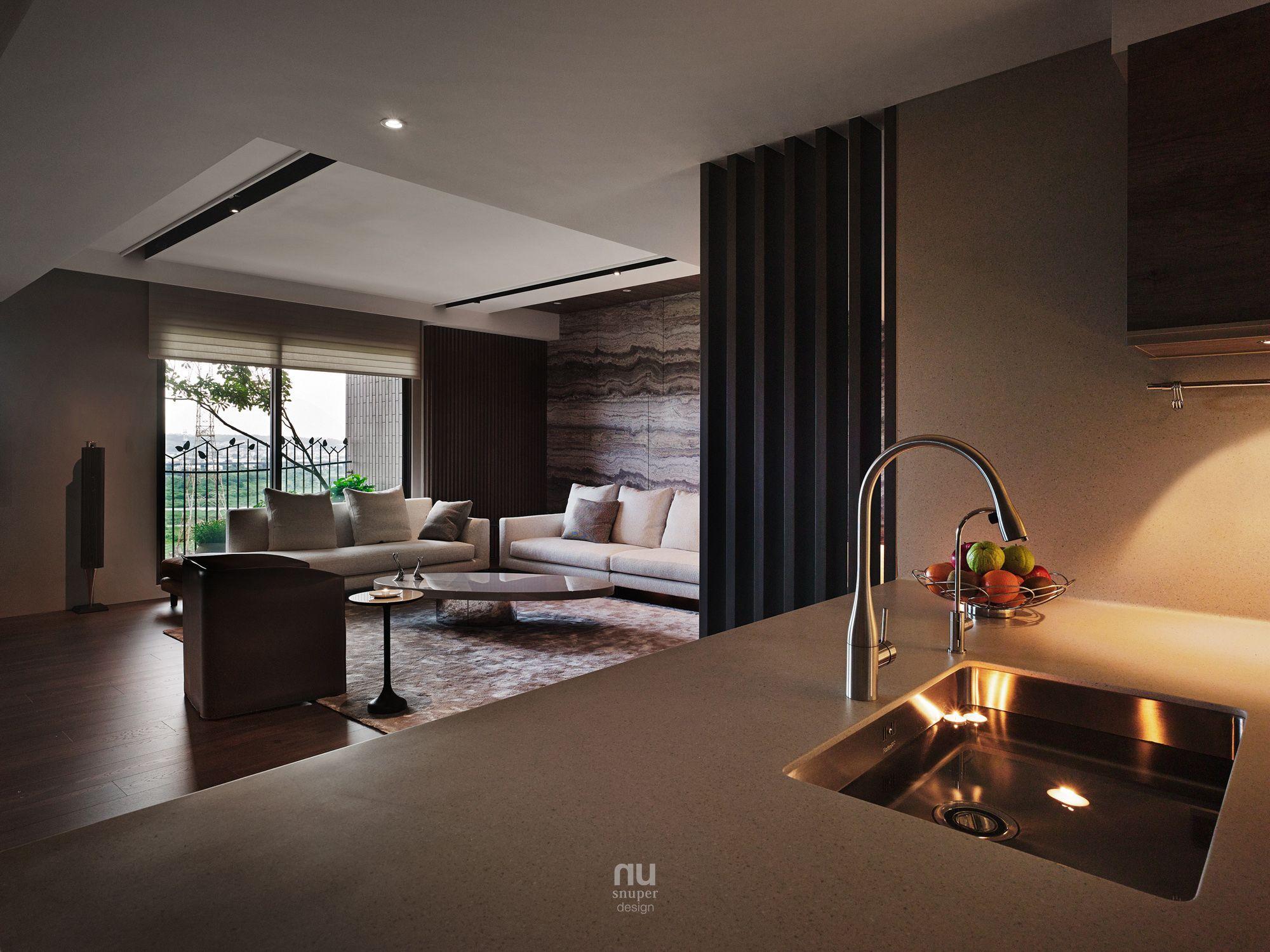 豪宅設計-臻邸 斂隱-廚房