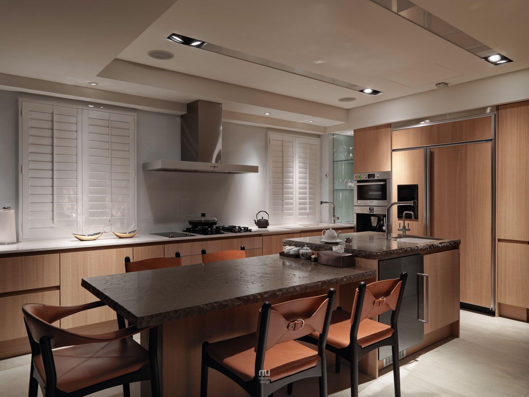 豪宅設計-青景-廚房