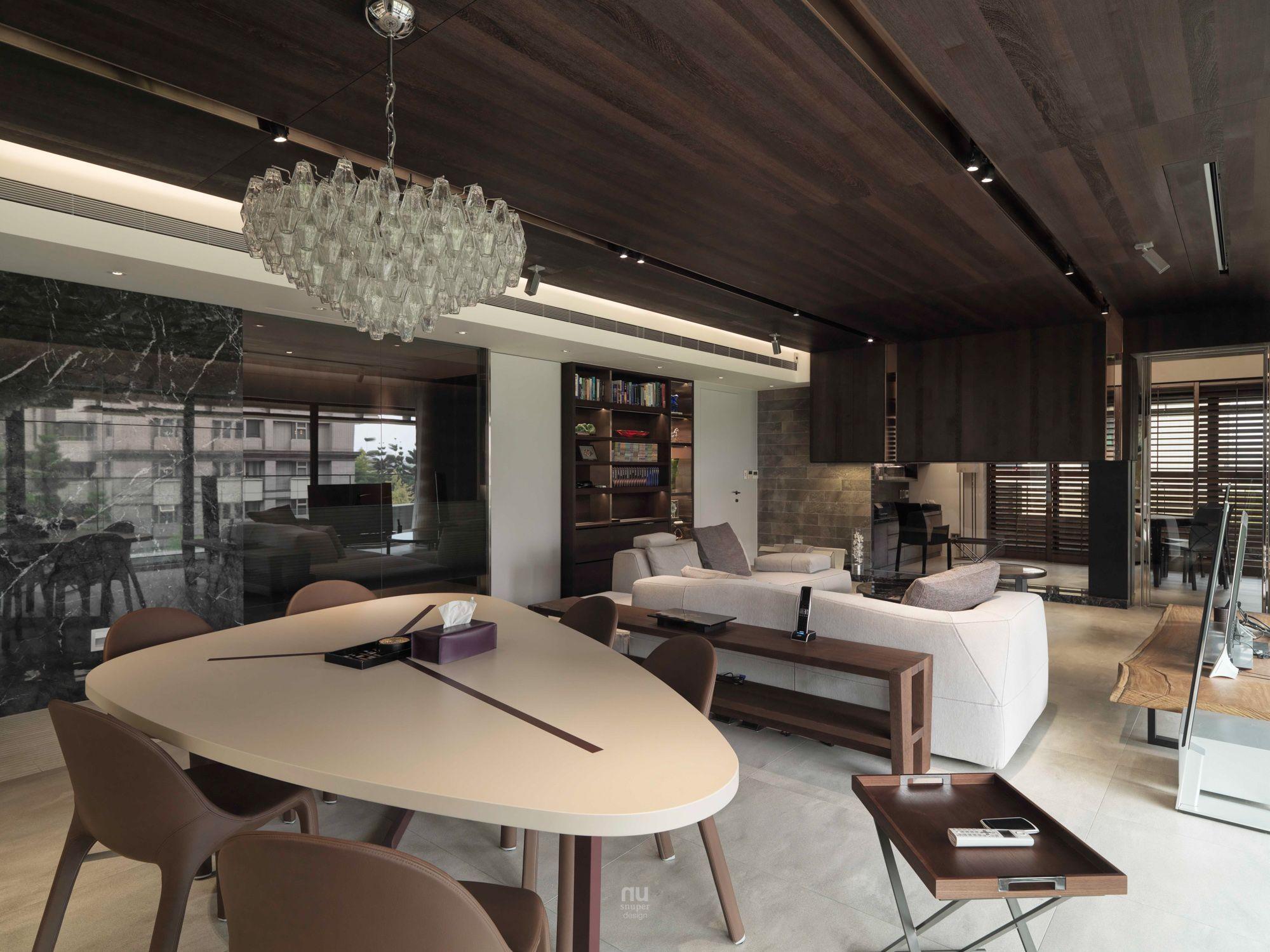 豪宅設計-青景-客廳