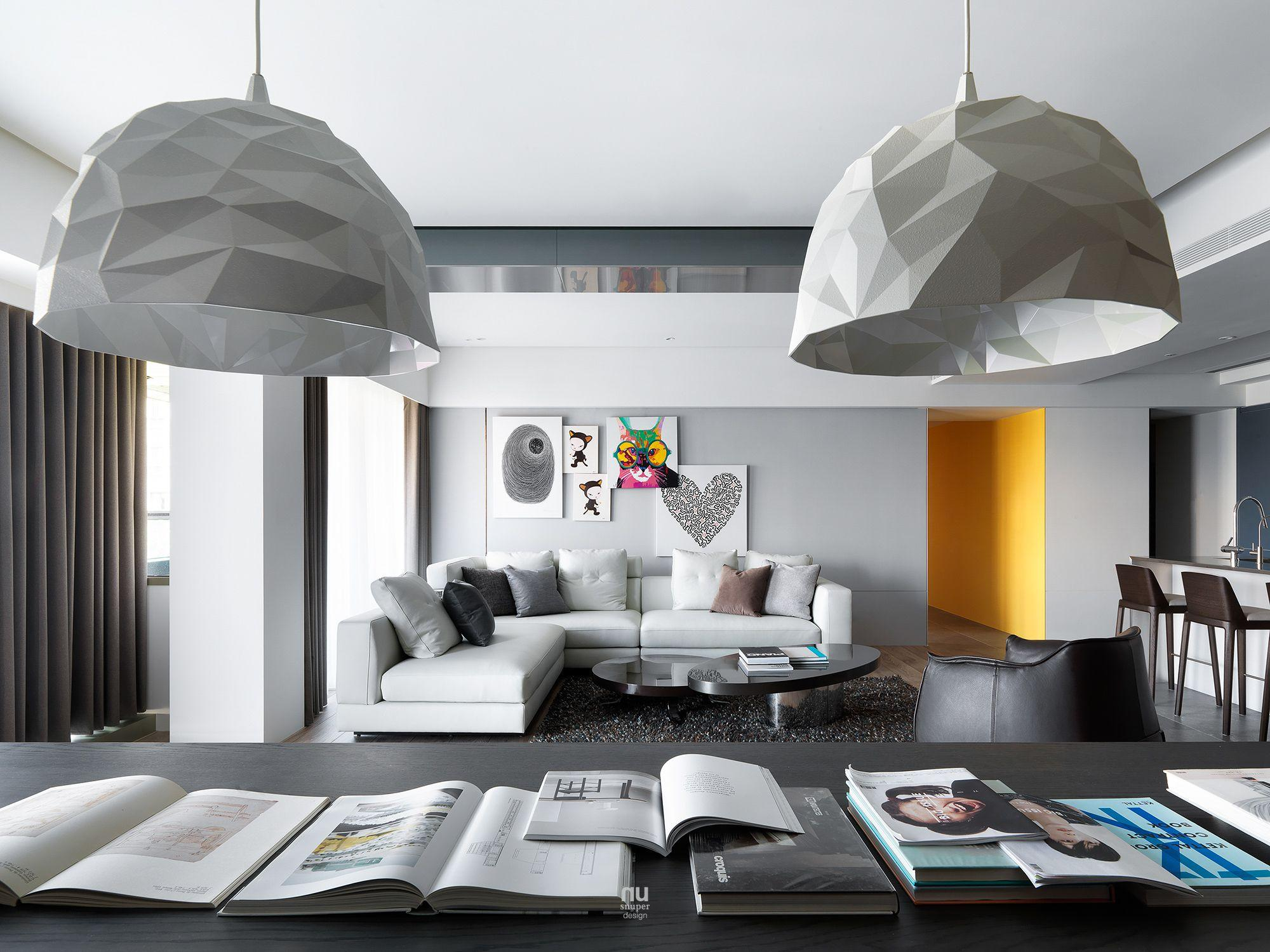 豪宅設計 -生活的味道-客廳