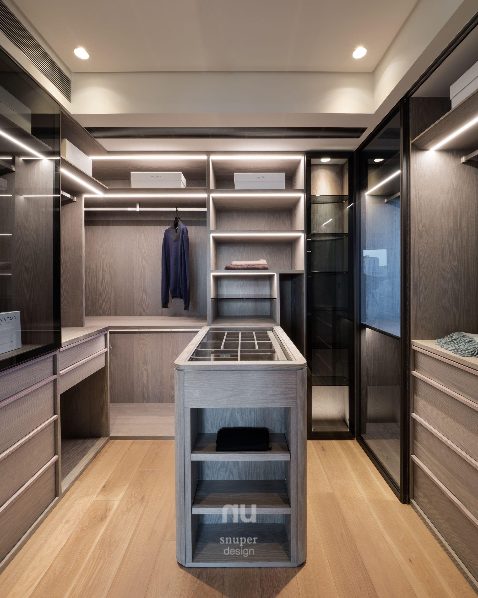 豪宅設計-大坪數-更衣室
