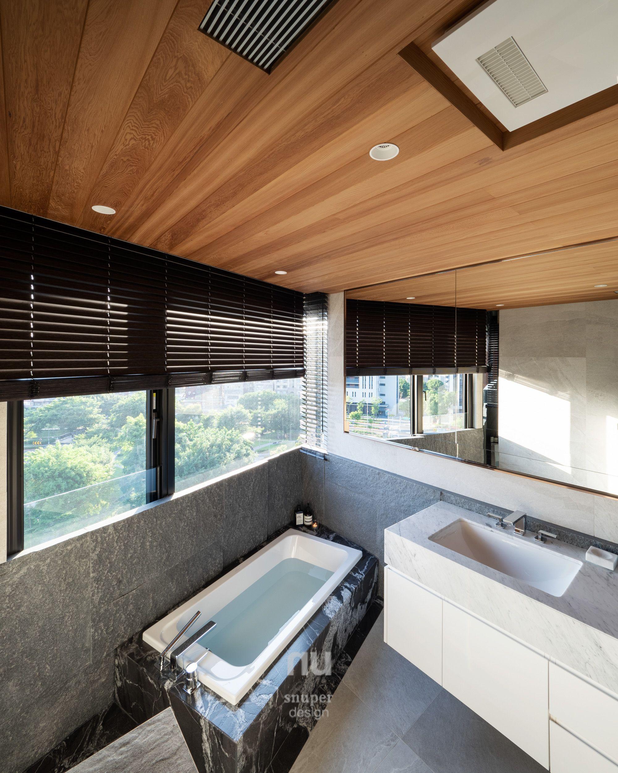 豪宅設計-大坪數-泡湯主浴室