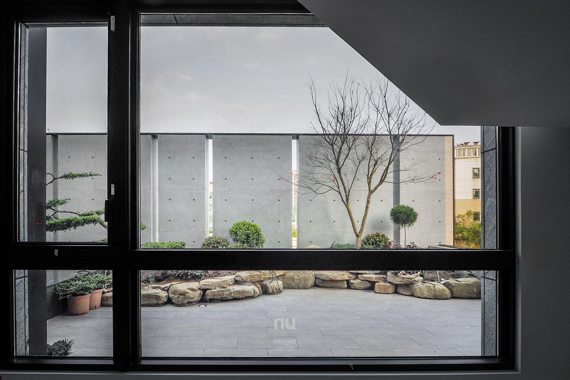 建築設計-世代共築-庭院