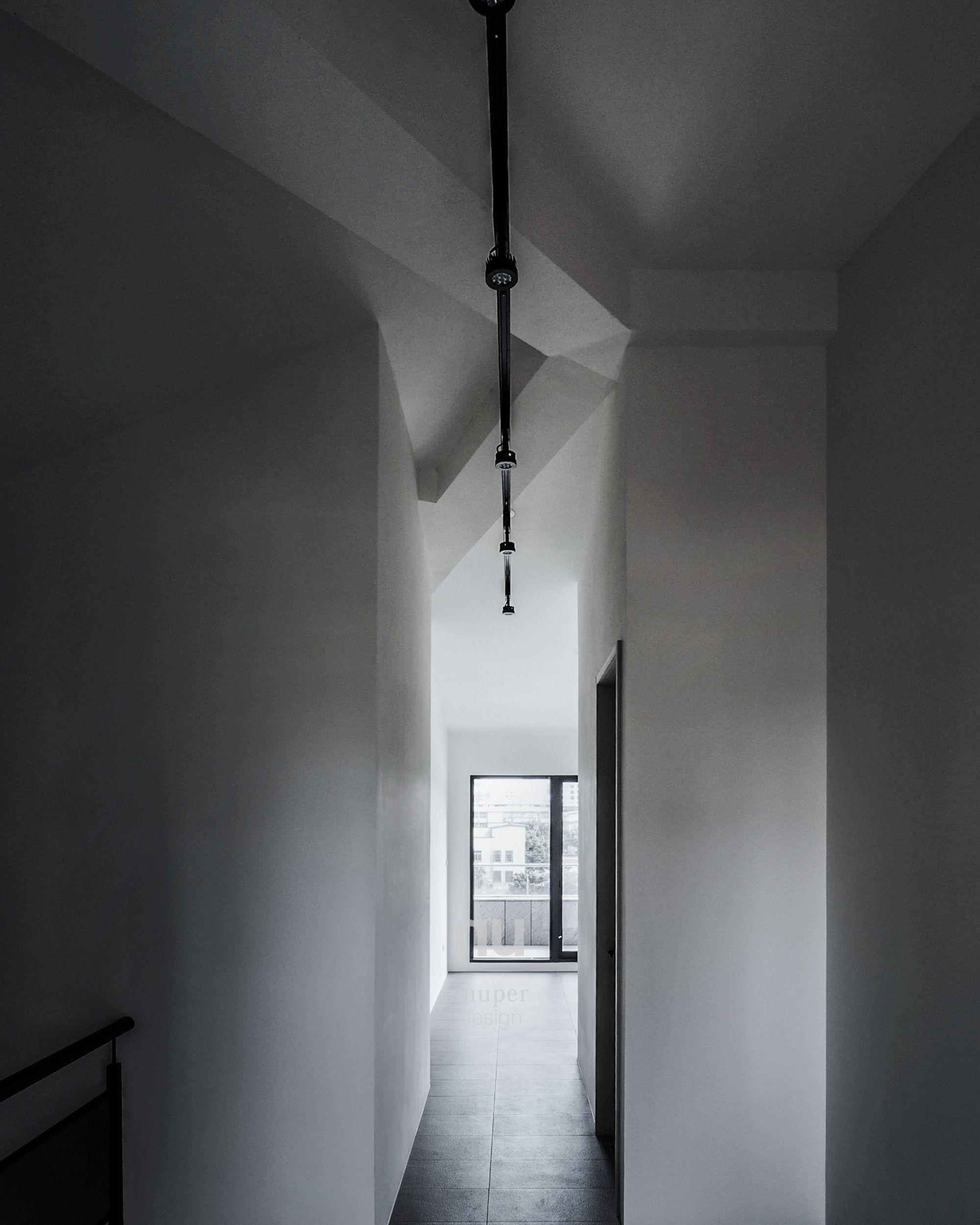 建築設計-世代共築-走道
