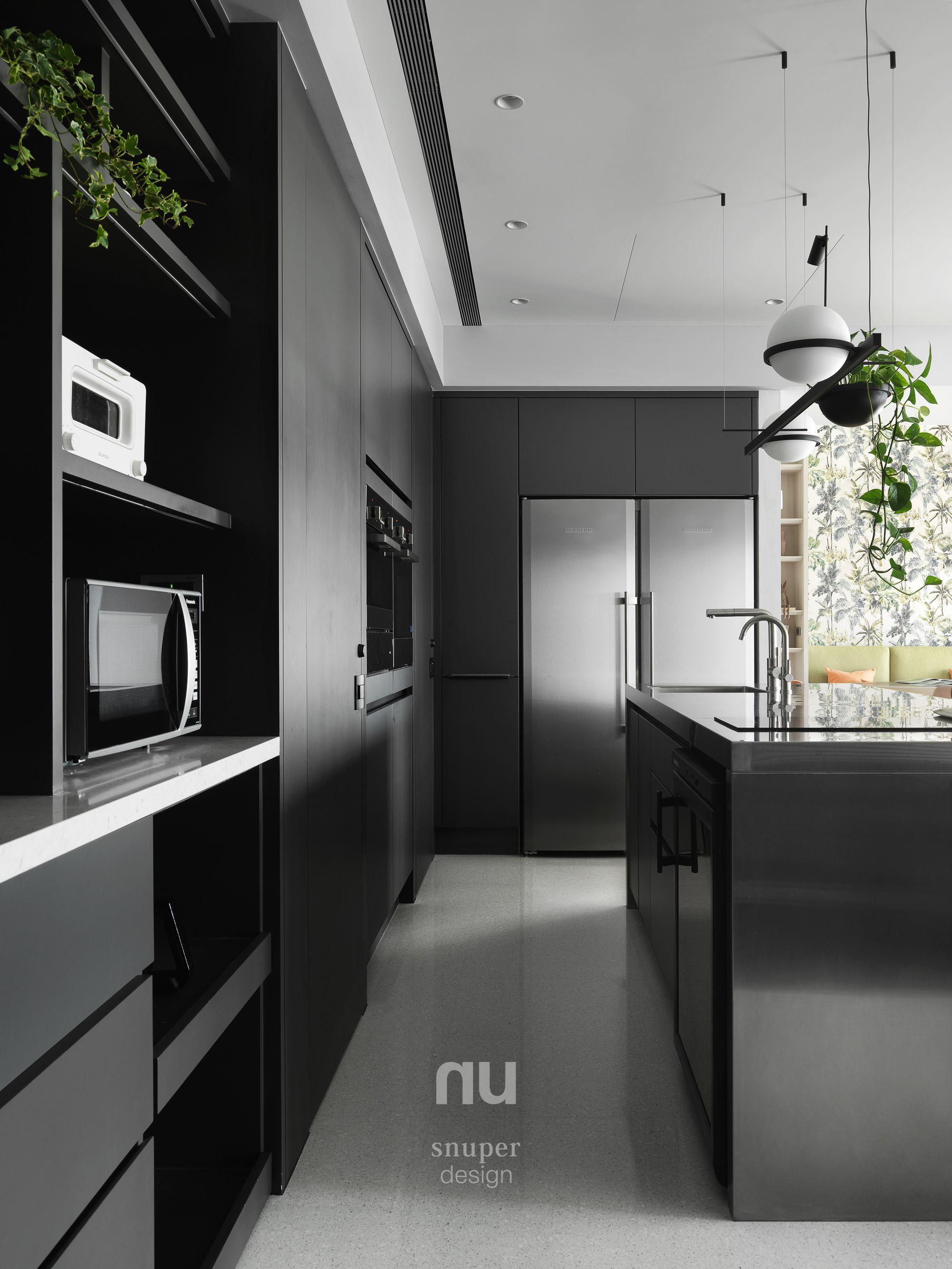 豪宅設計-晨光天地-廚房