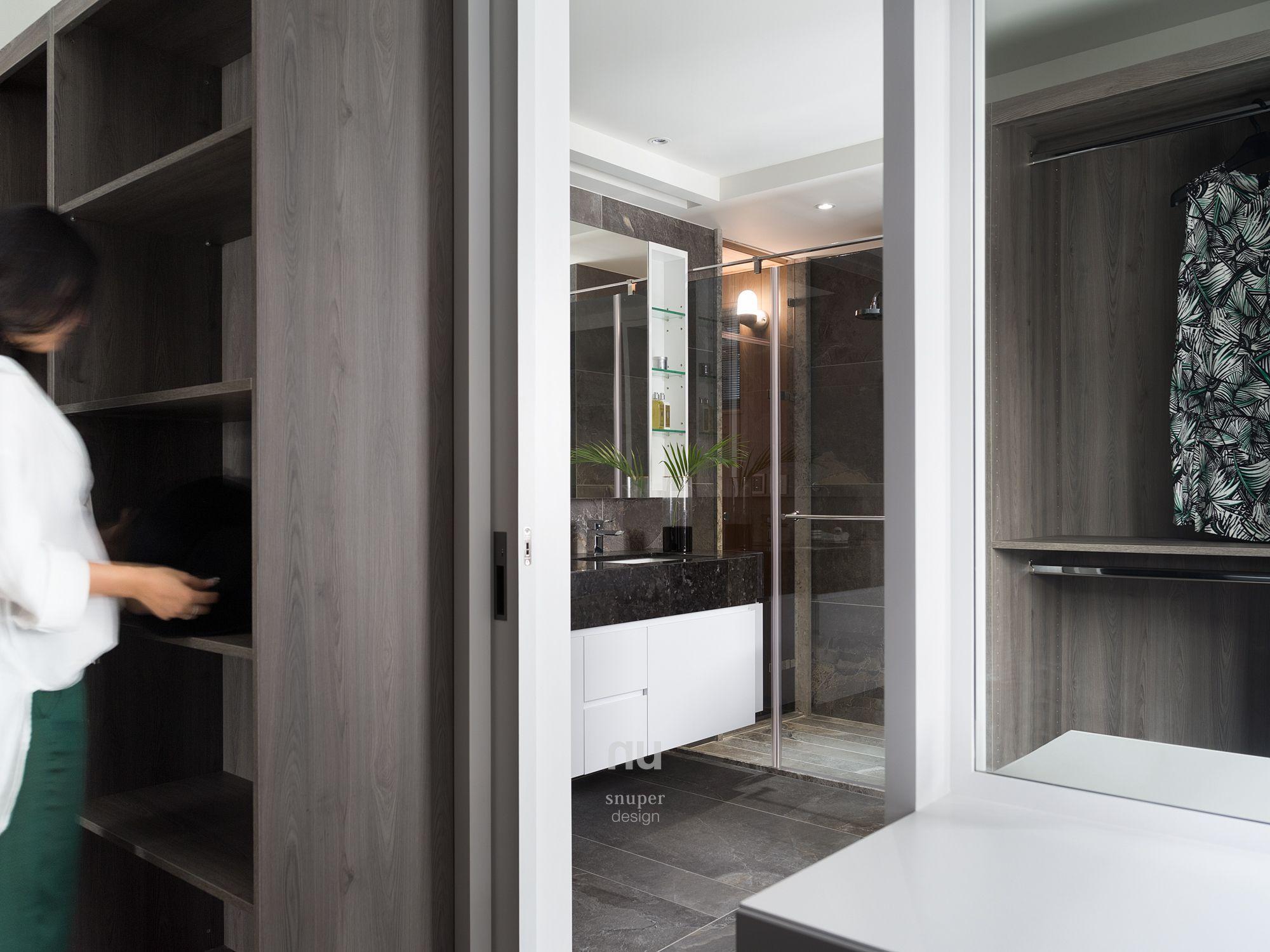豪宅設計-都會綠洲-浴室