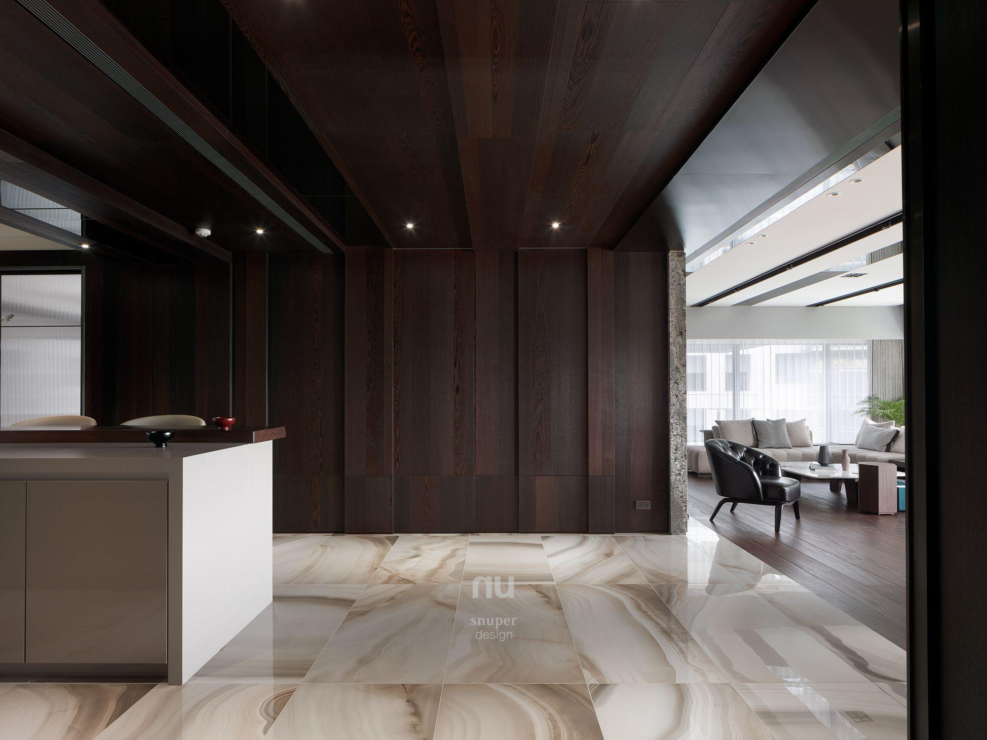 豪宅設計-都會綠洲-餐廳