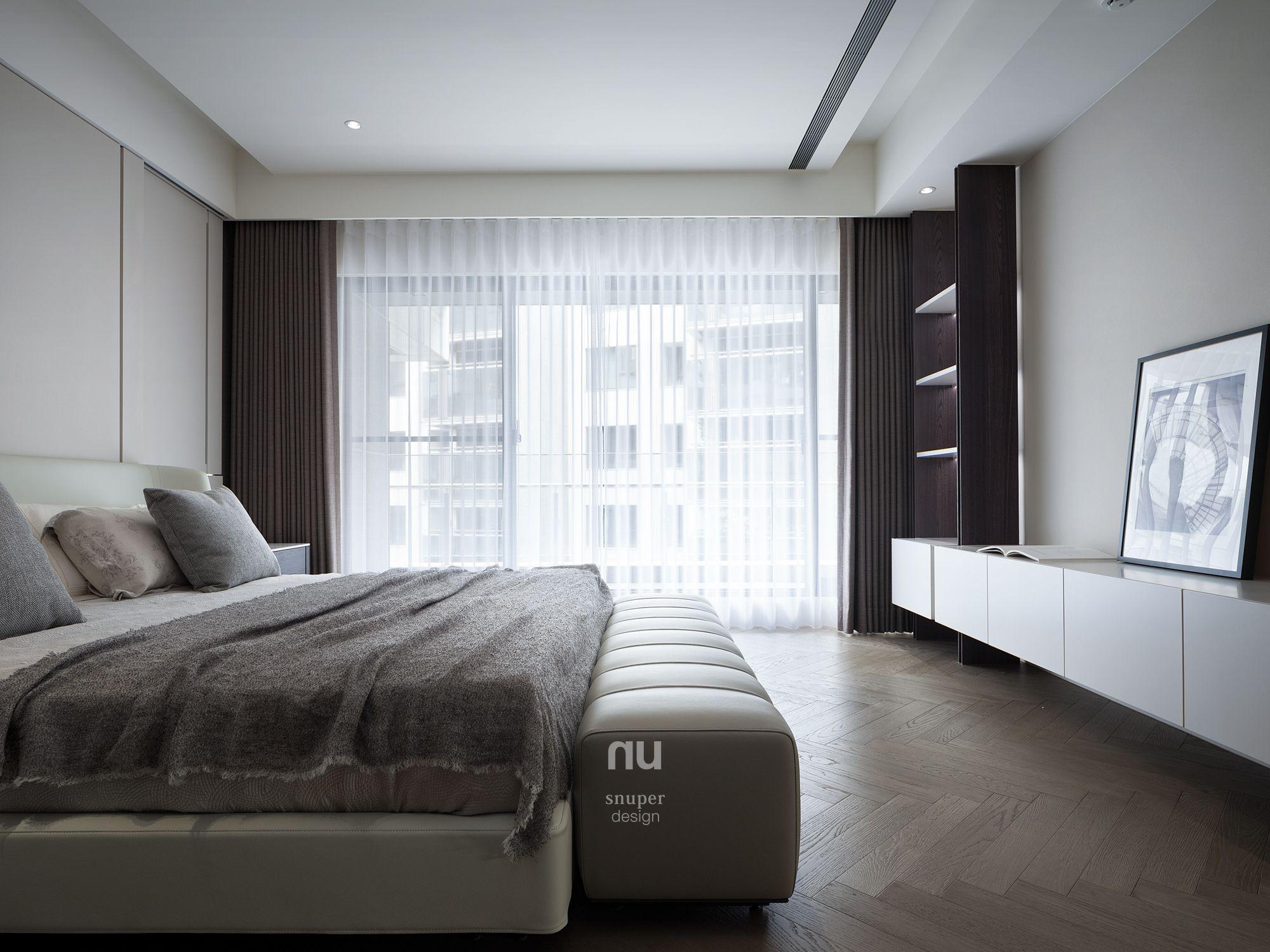 豪宅設計-都會綠洲-主臥室