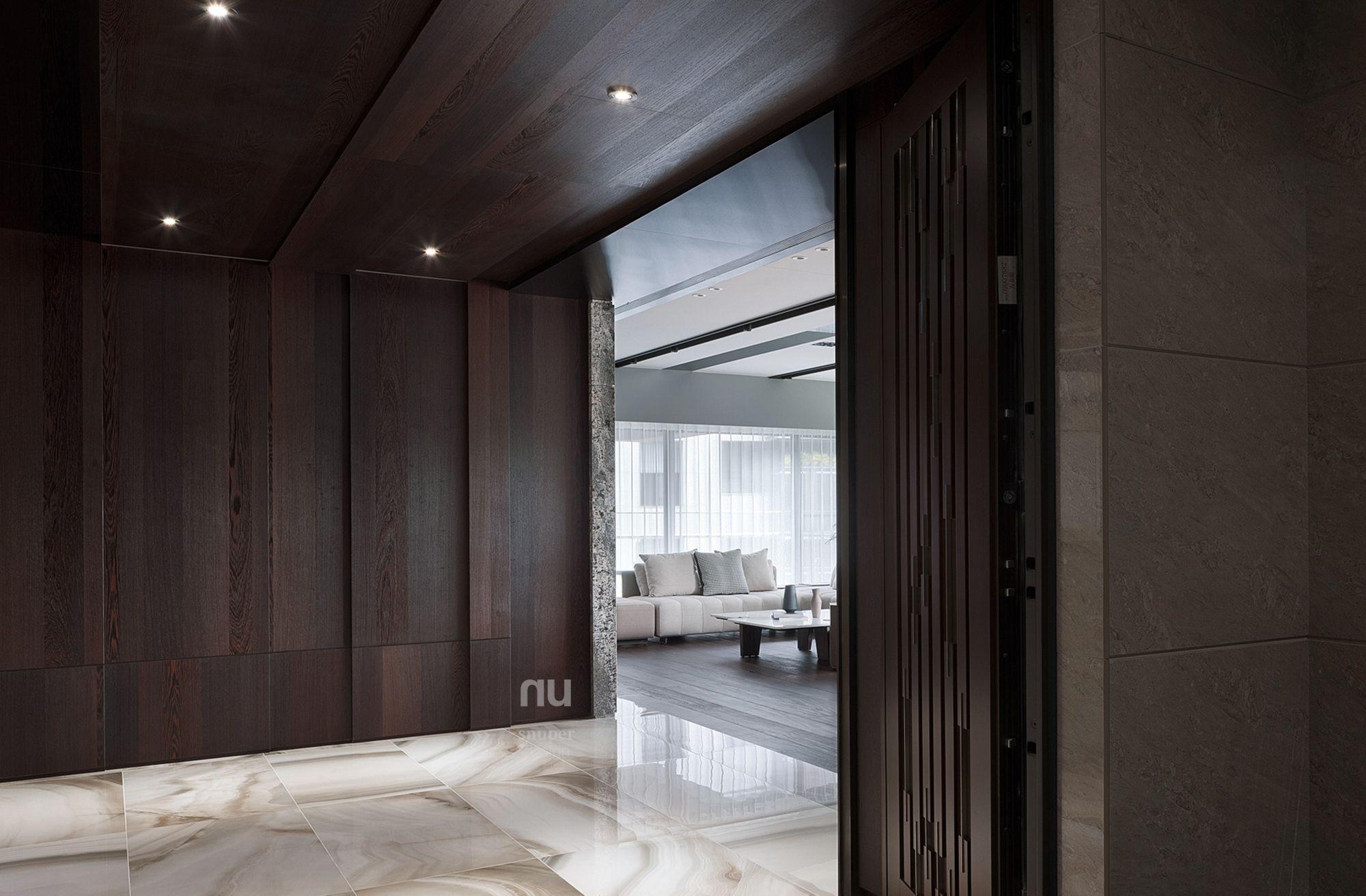 豪宅設計-都會綠洲-玄關