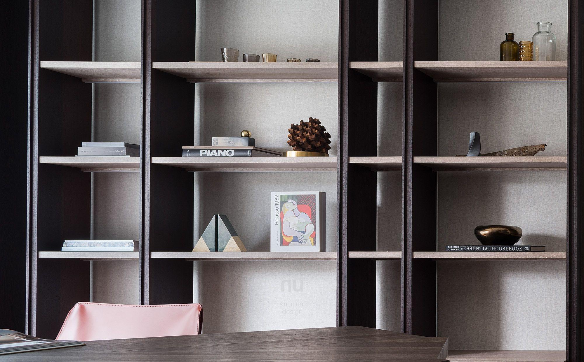 豪宅設計-都會綠洲-書房