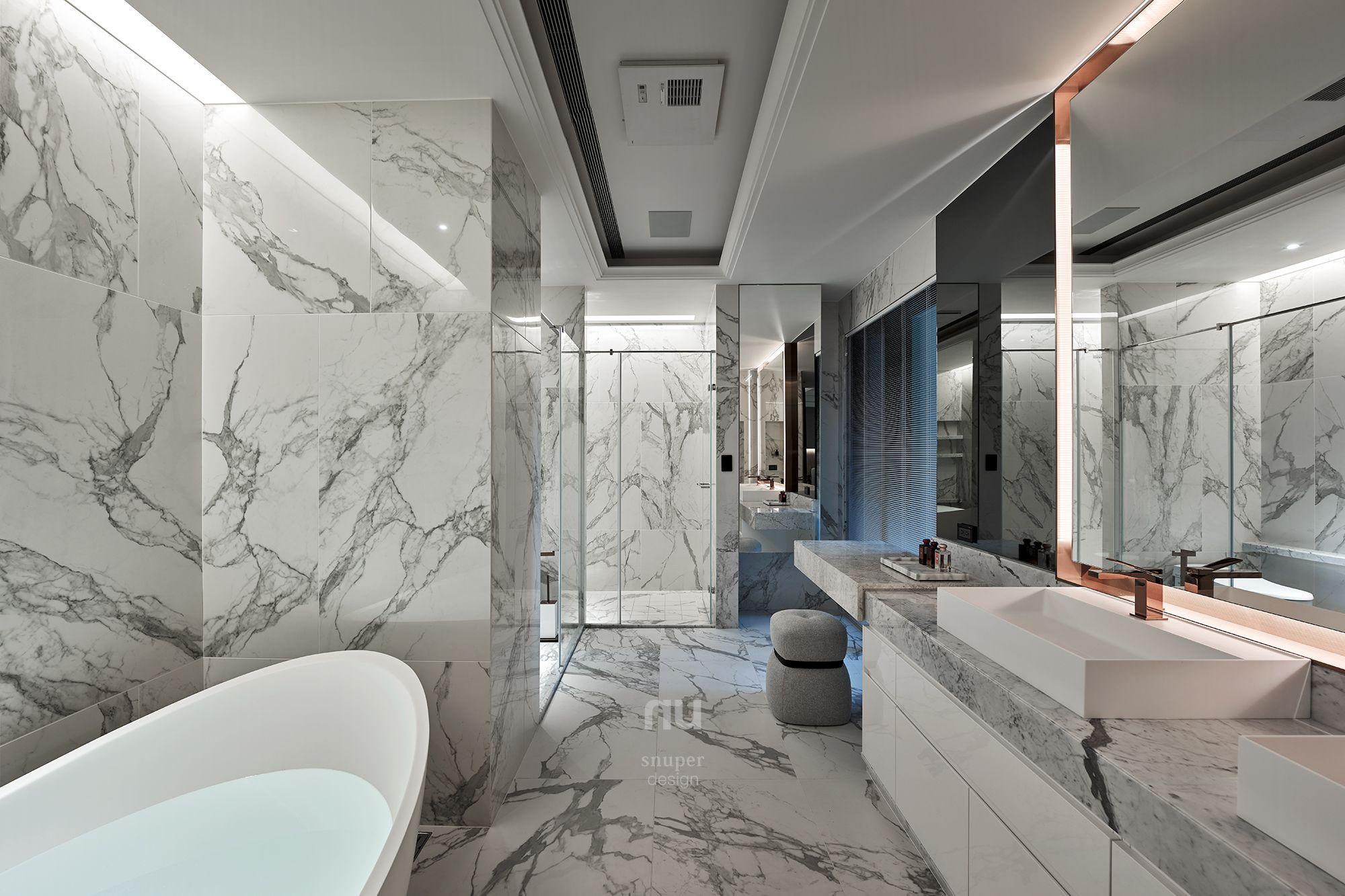 豪宅設計-浴室-桃園中悅