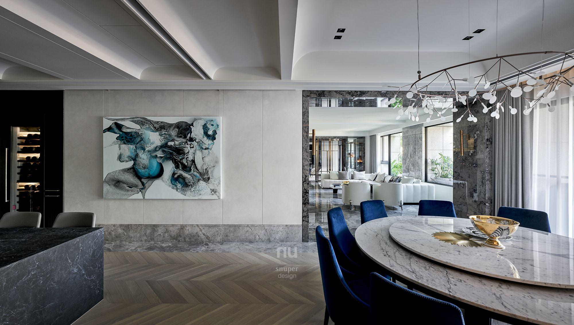 豪宅設計-餐廳-桃園中悅