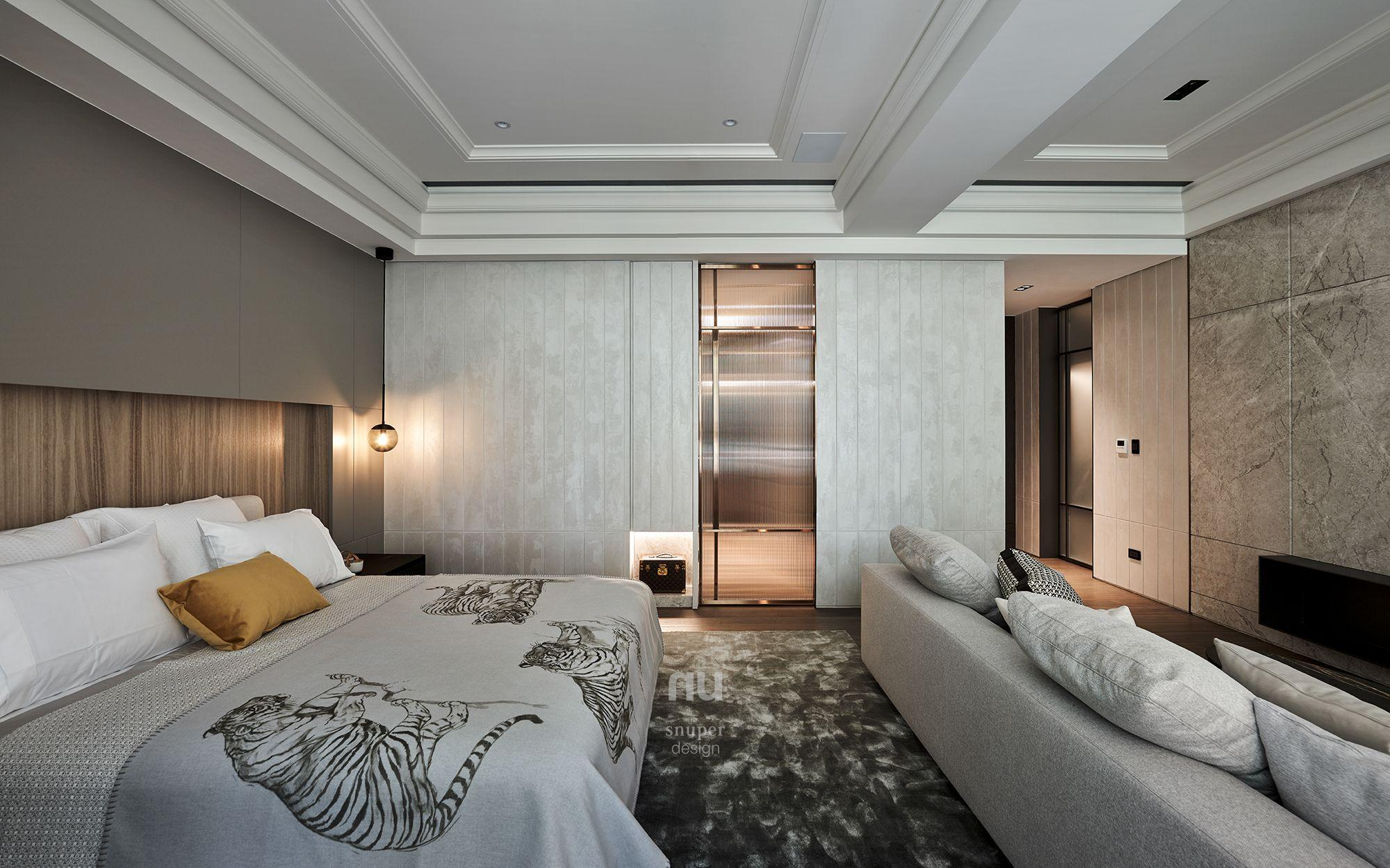 豪宅設計-臥室-桃園中悅