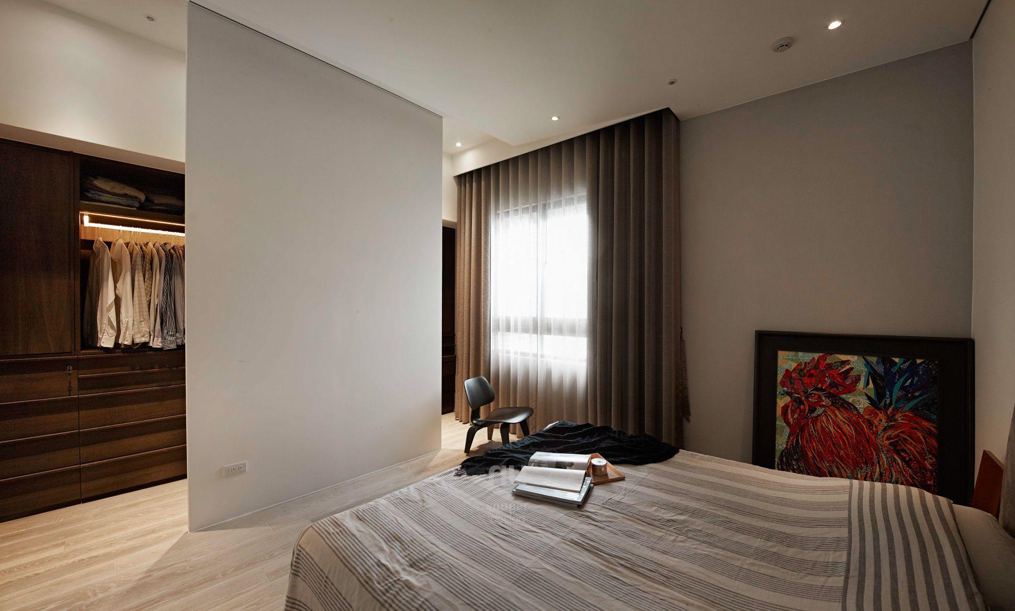 豪宅設計-當代上林-臥室