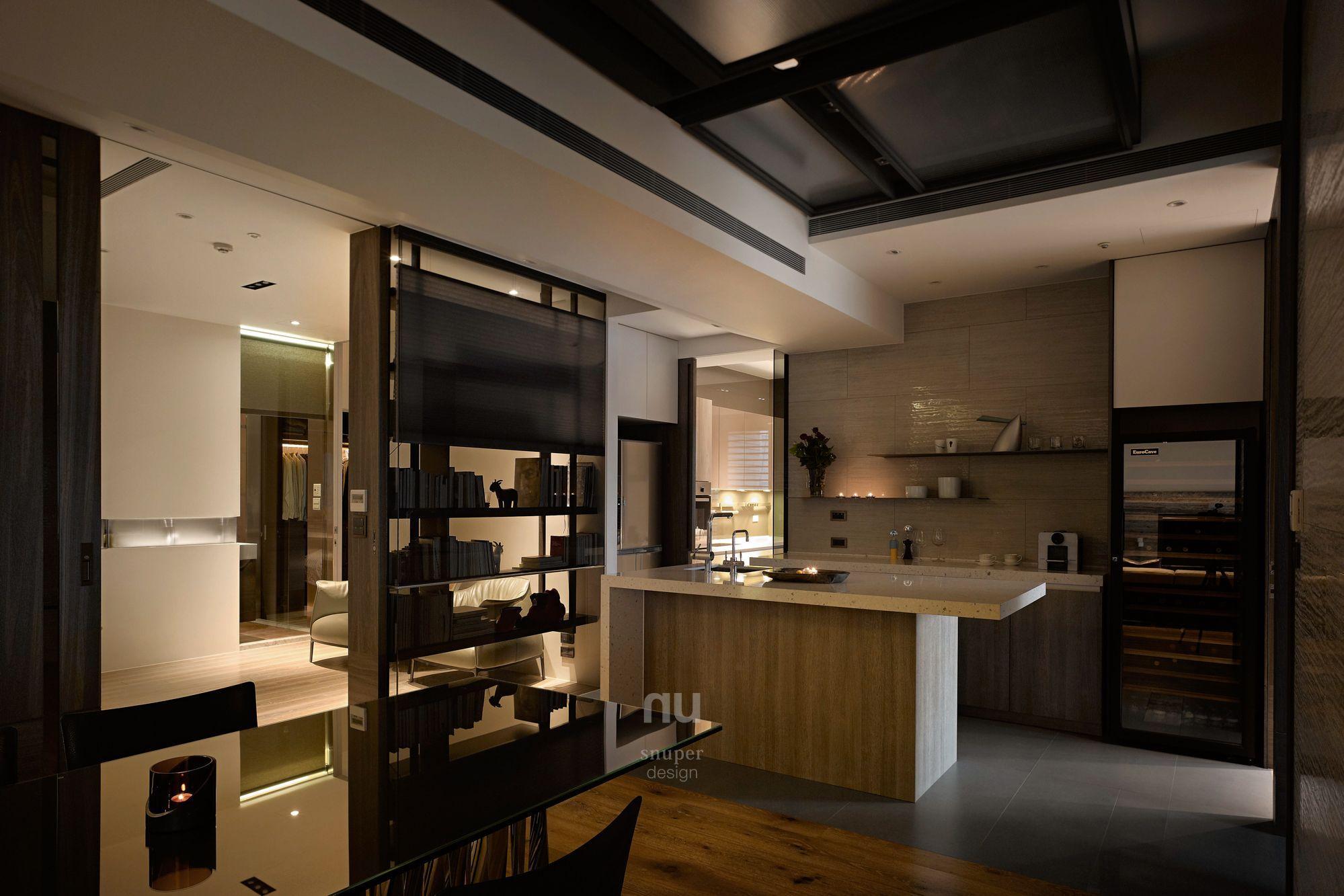 豪宅設計-當代上林-餐廳