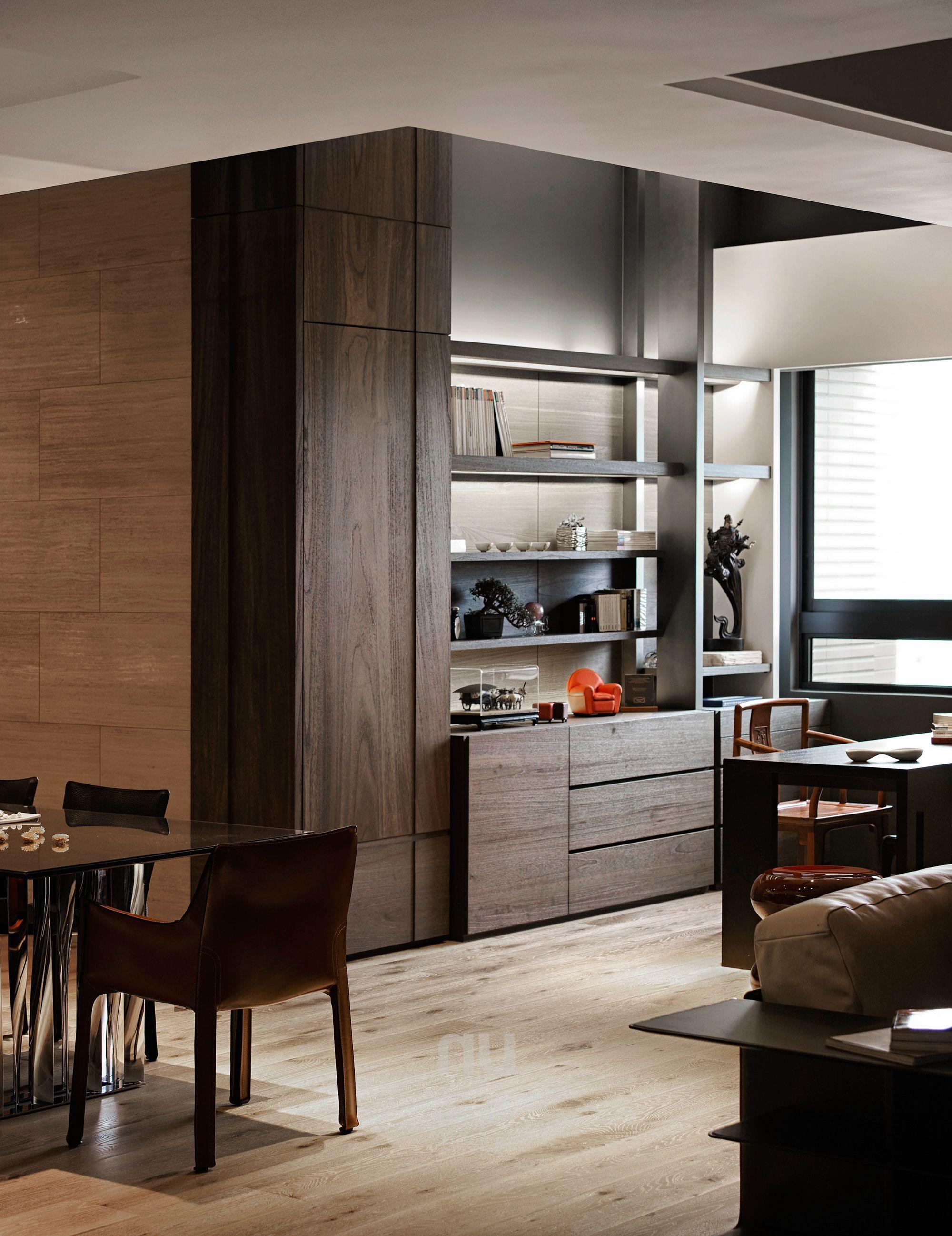 豪宅設計-當代上林-書房