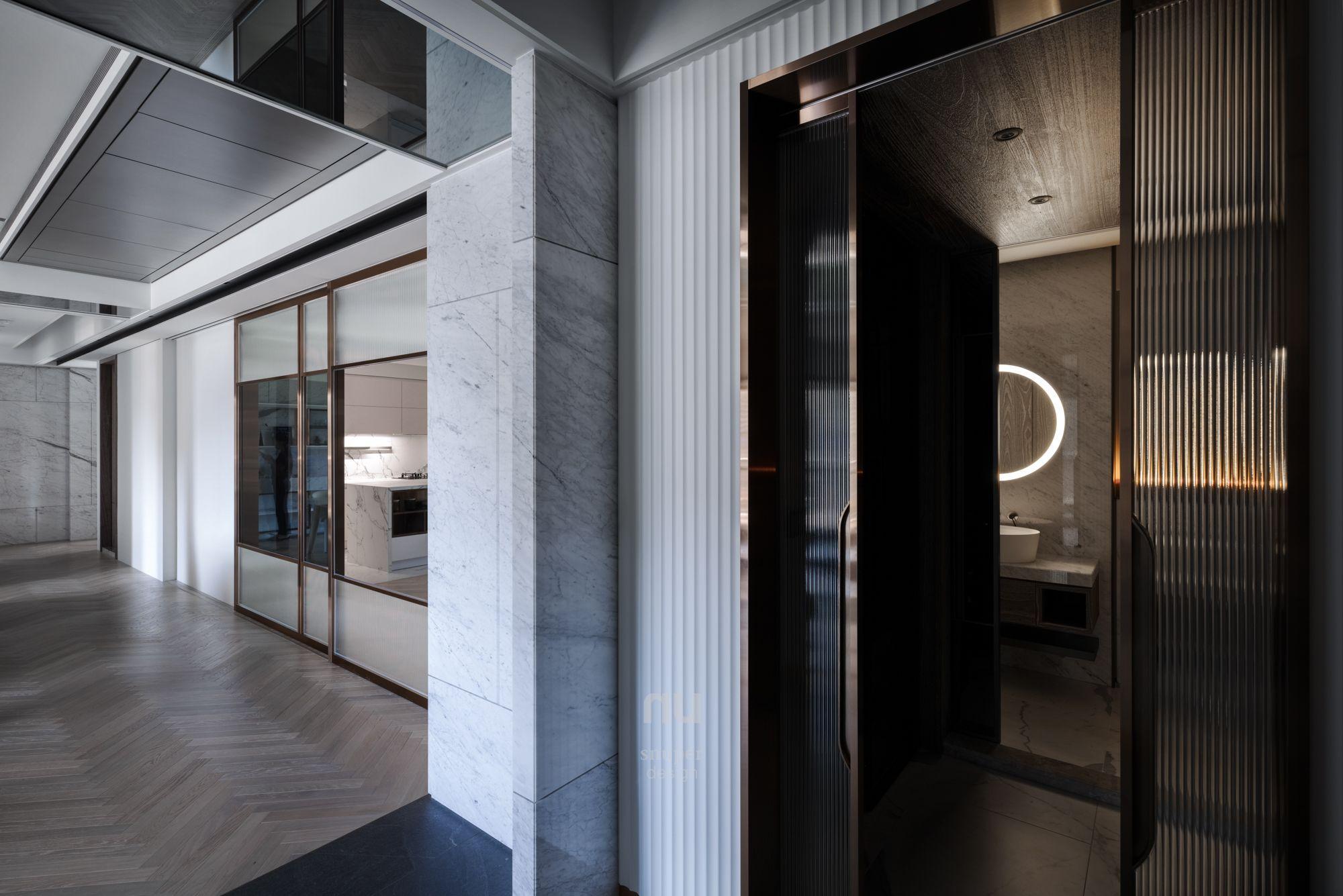 豪宅設計-當代風采-玄關