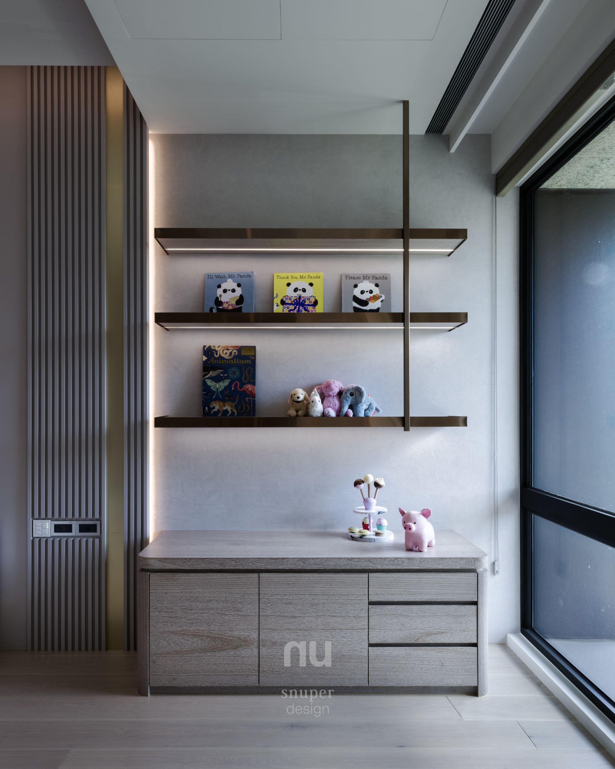 豪宅設計-當代風采-小孩房
