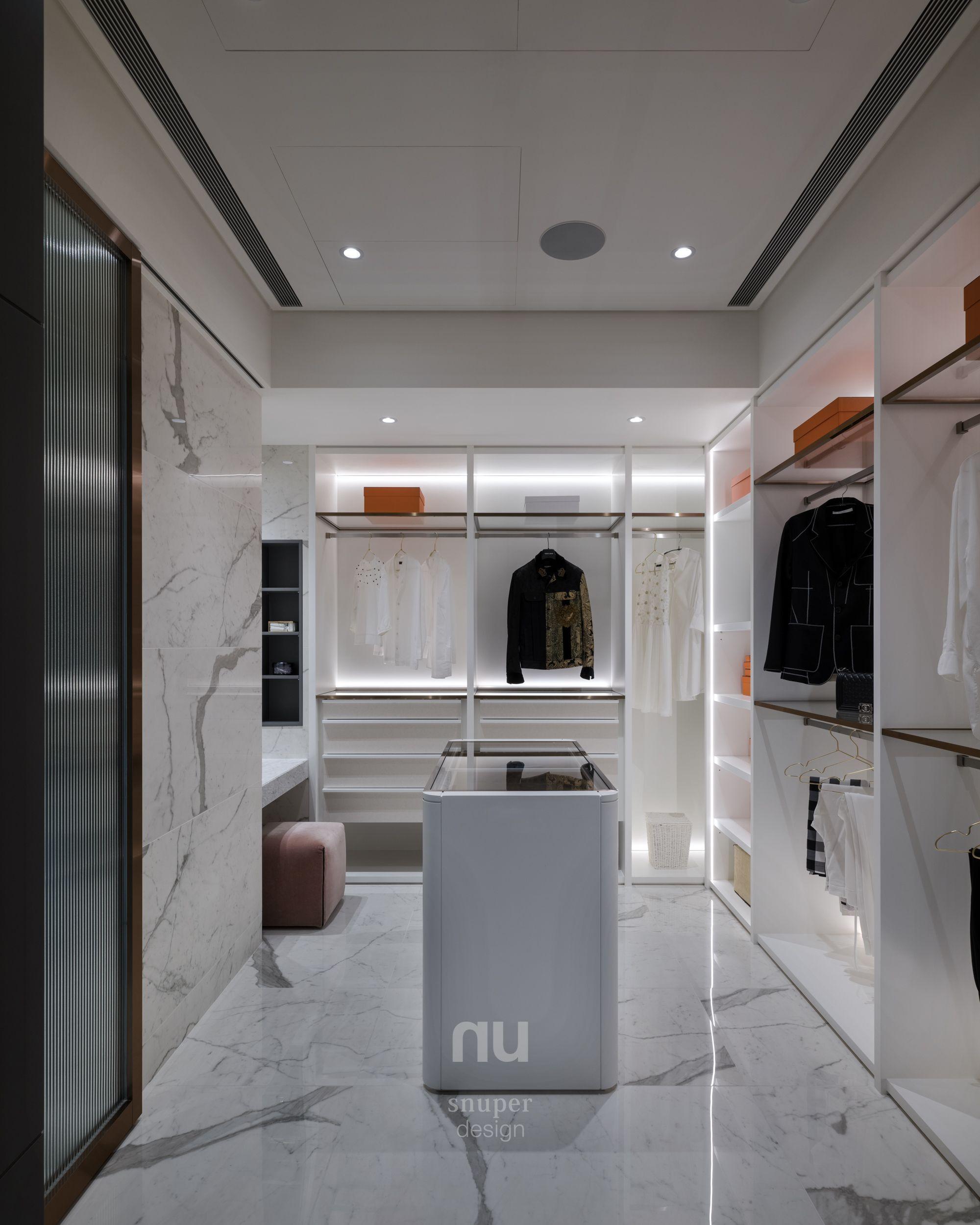 豪宅設計-當代風采-更衣室