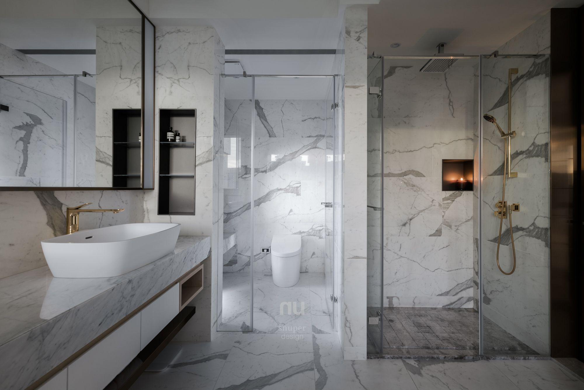 豪宅設計-當代風采-主浴室
