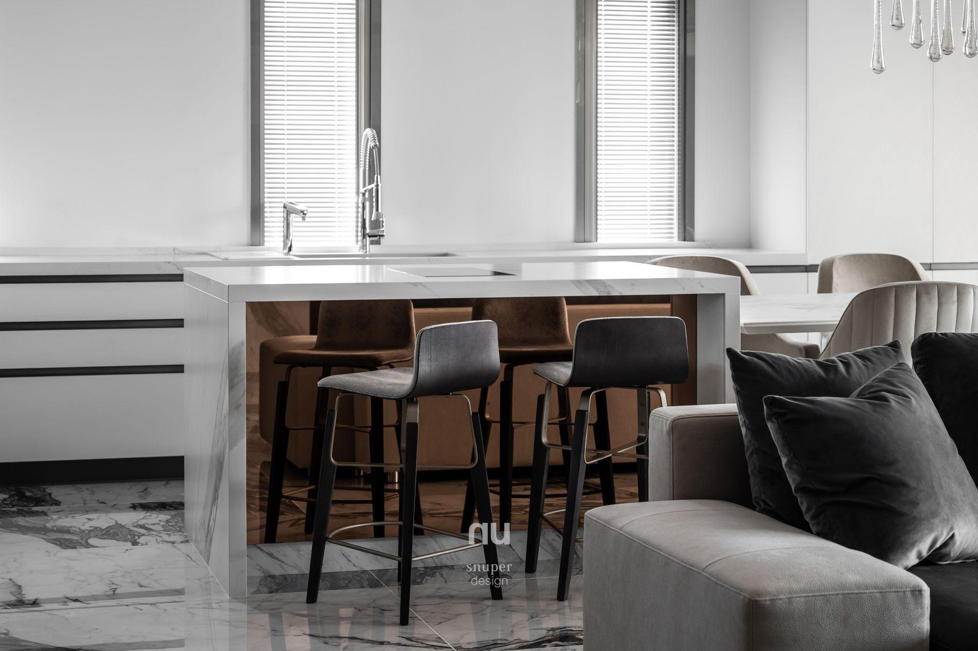 豪宅設計-都會優雅-餐廳