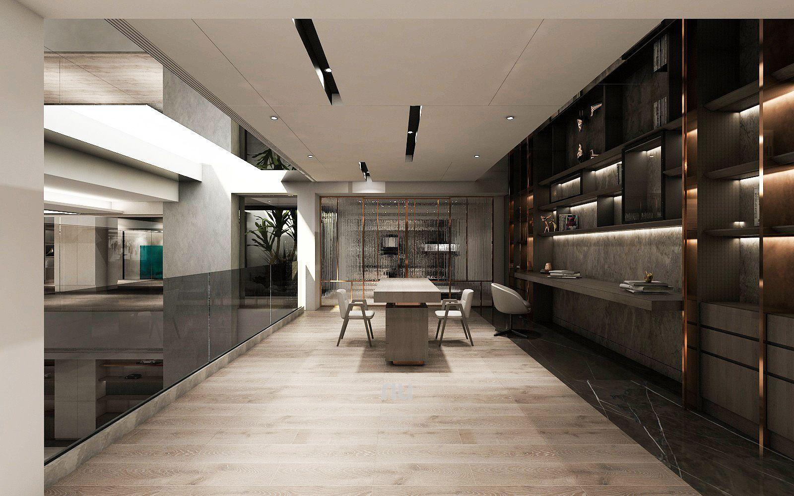 豪宅設計-南京安品-書房