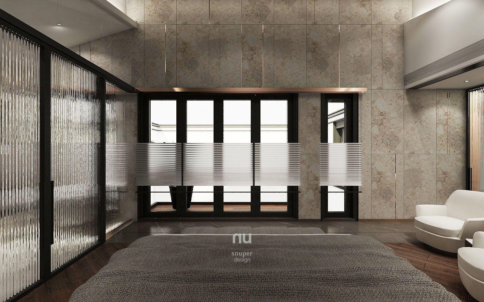 豪宅設計-南京安品-臥室