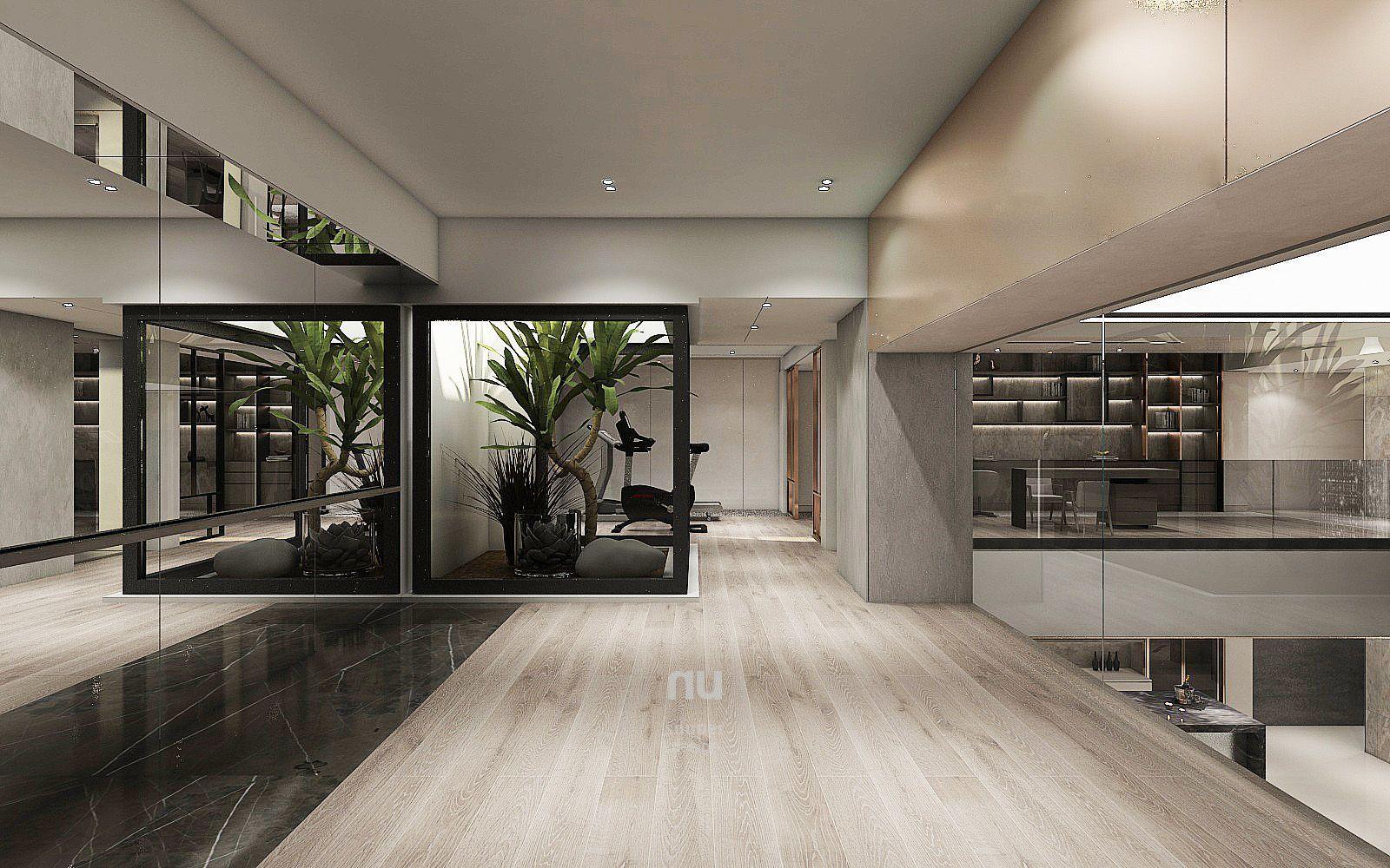 豪宅設計-南京安品-健身房
