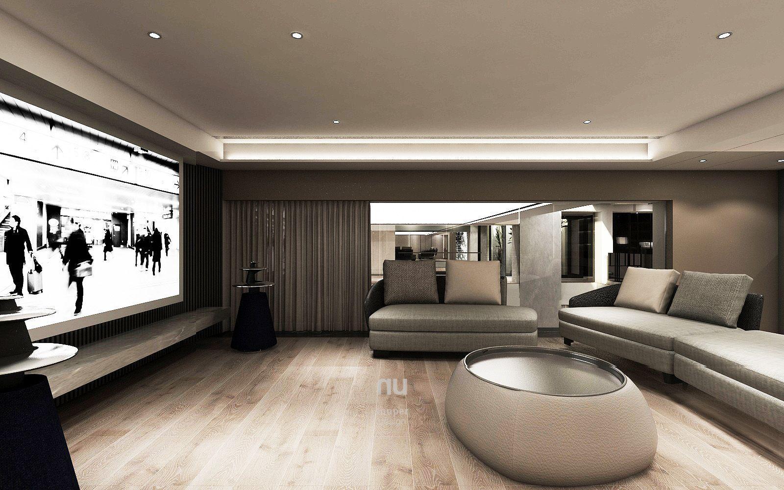 豪宅設計-南京安品-家庭劇院